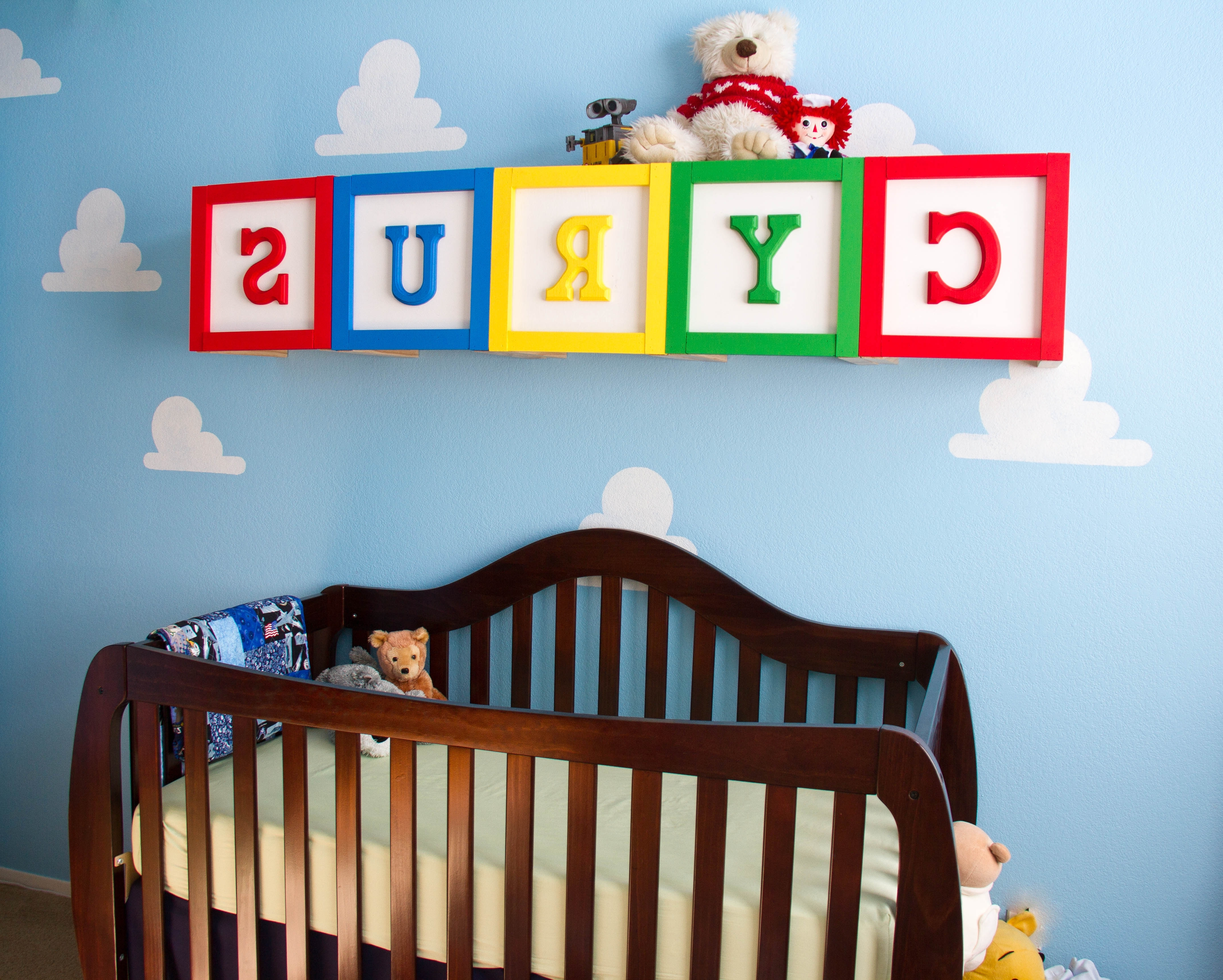 Well Known Toy Story Wall Stickers In Toy Story Boy's Room – Project Nursery (View 14 of 15)