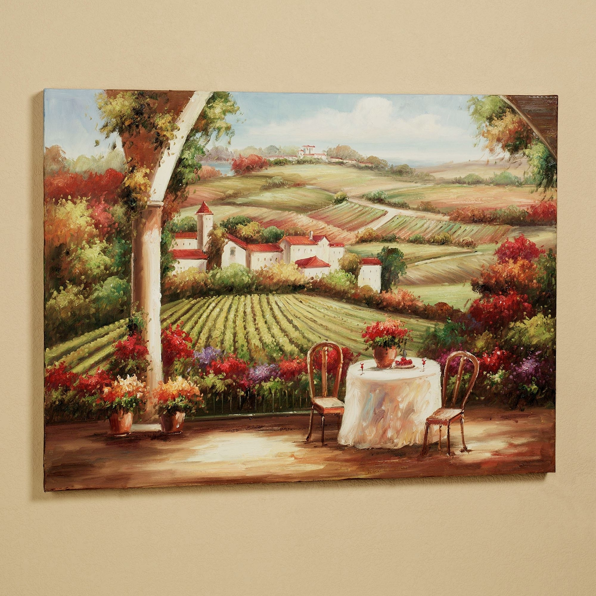 Well Known Tuscan Italian Canvas Wall Art Intended For Kitchen And Dining Room Wall Art (View 14 of 15)