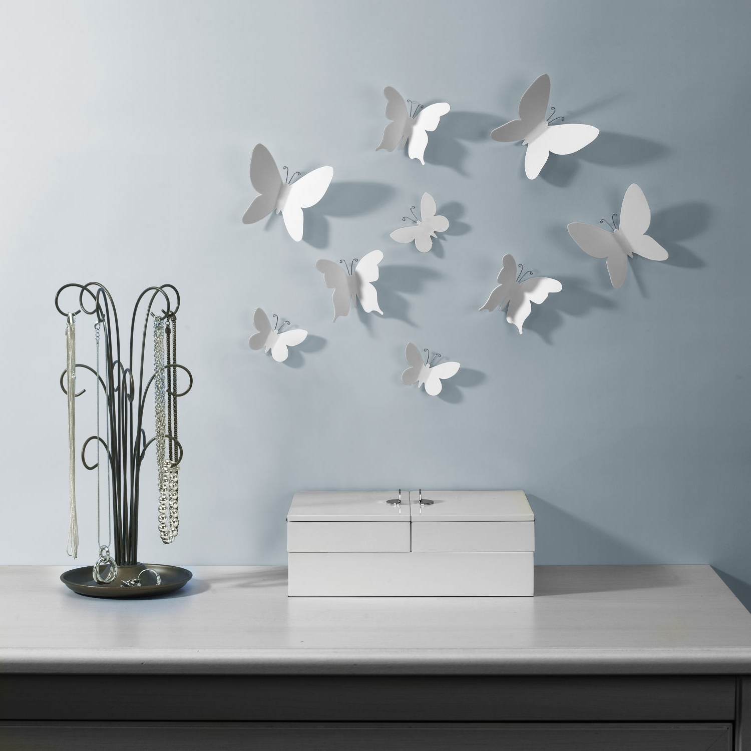 Well Known Umbra 3D Wall Art Throughout Umbra Mariposa Wall Decor • Walls Decor (View 15 of 15)