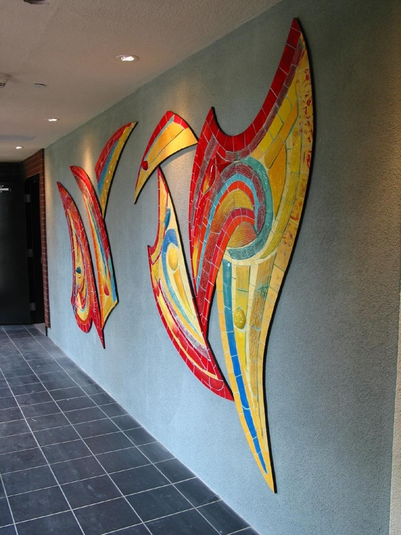 Well Known Unique Art Throughout Abstract Mosaic Art On Wall (View 6 of 15)