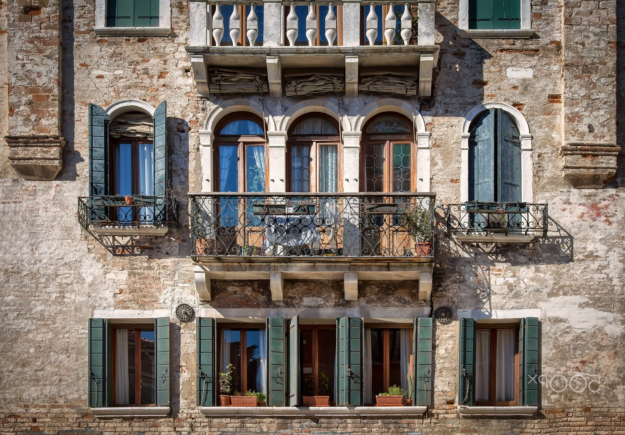 Well Known Venetian Facadesabine Wagner On 500px (View 6 of 15)