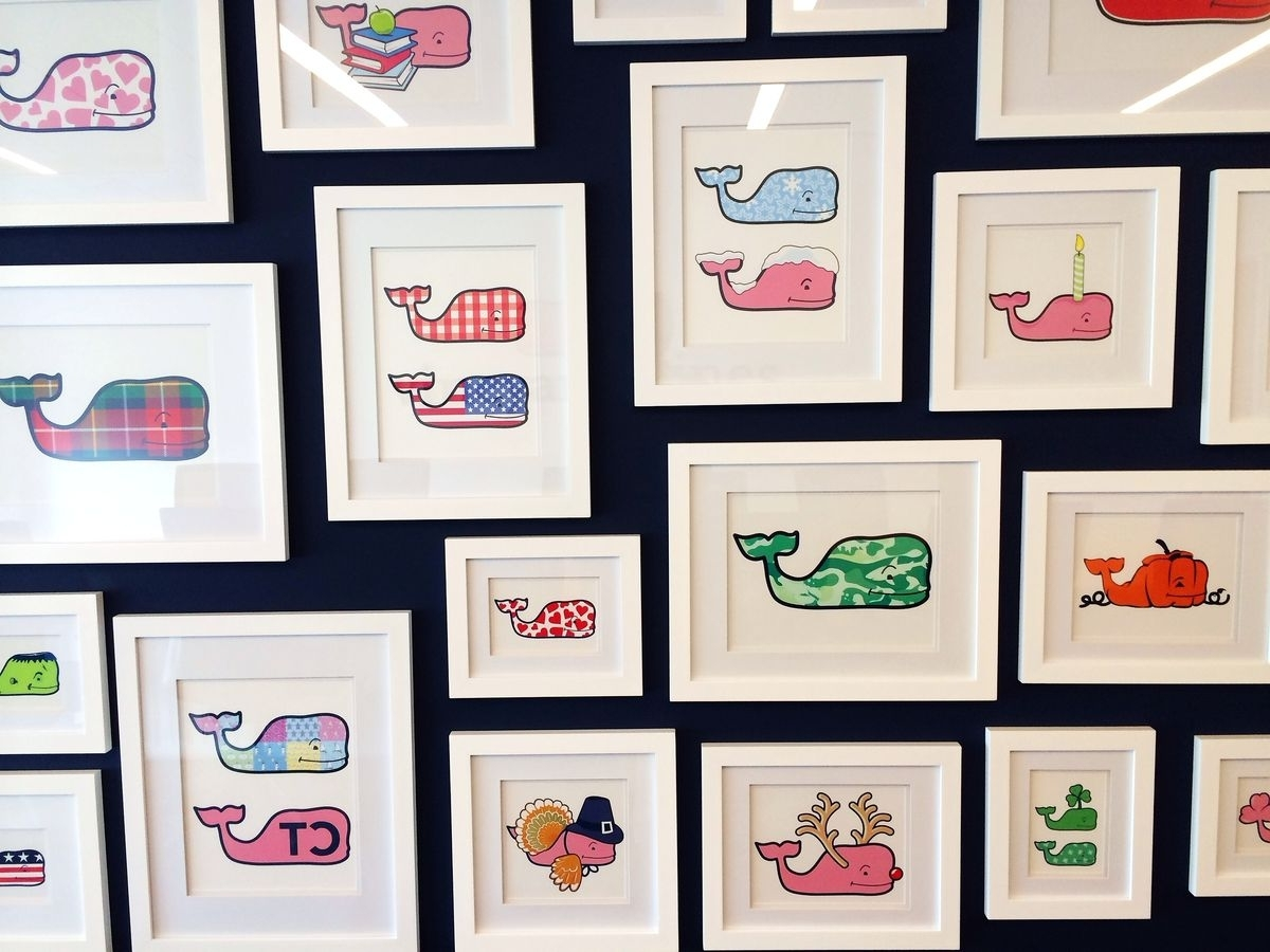 Well Known Vineyard Wall Art Inside Vineyard Vines' Lavish New Hq Is The Preppiest Office In America (View 9 of 15)