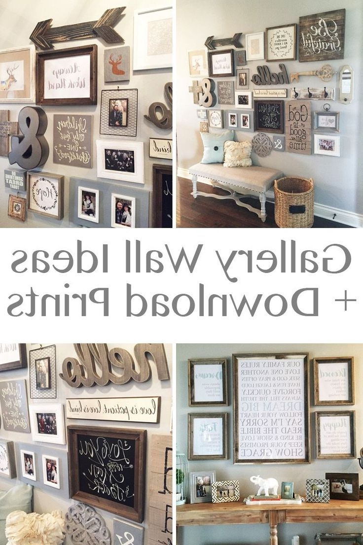 Well Known Vintage Style Wall Art Within Best 25+ Rustic Gallery Wall Ideas On Pinterest (View 7 of 15)