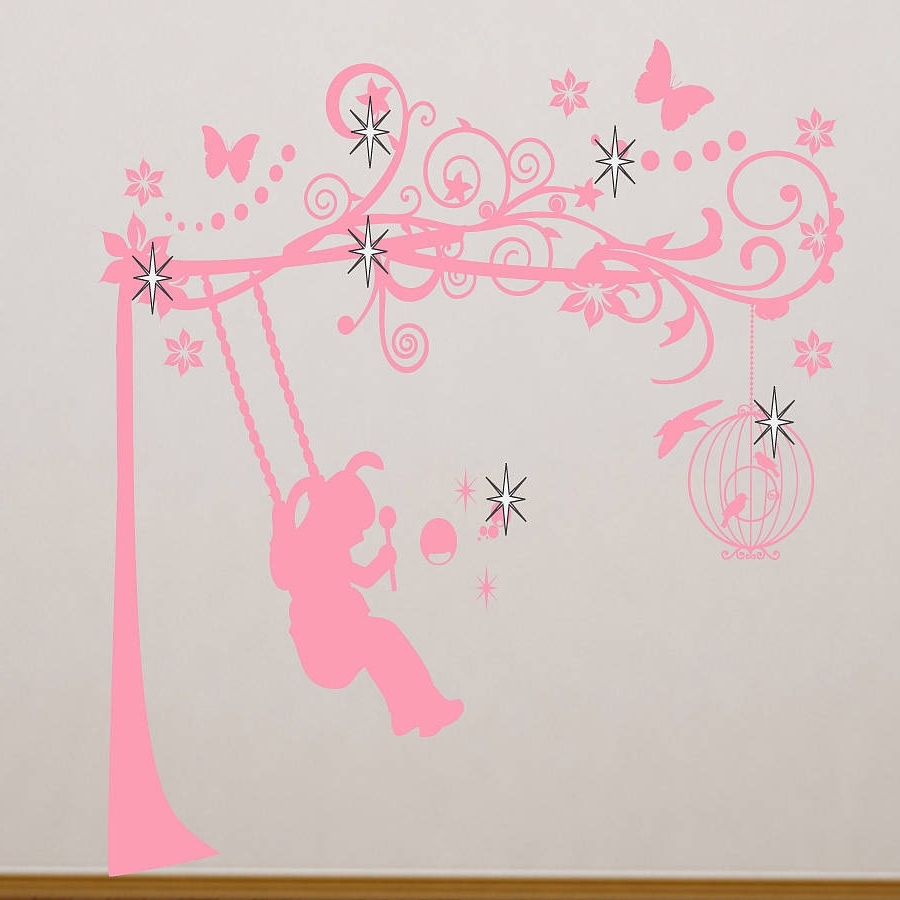 Well Known Wall Art For Girls For Wall Art: Adorable Ideas To Decorating Girls Wall Art Room (View 13 of 15)