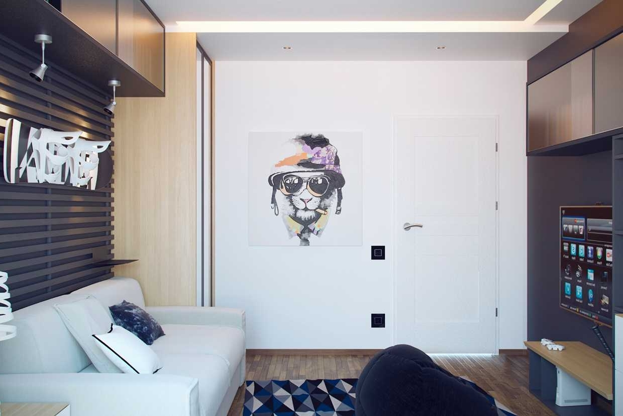 Well Known Wall Art For Teenagers Intended Cool And Creative Bedrooms