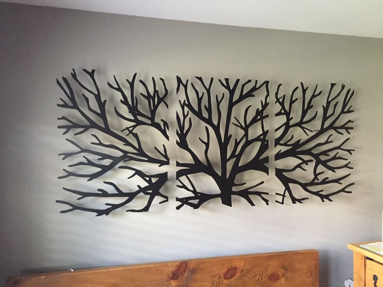 Well Known Wall Art Headboard … (View 15 of 15)