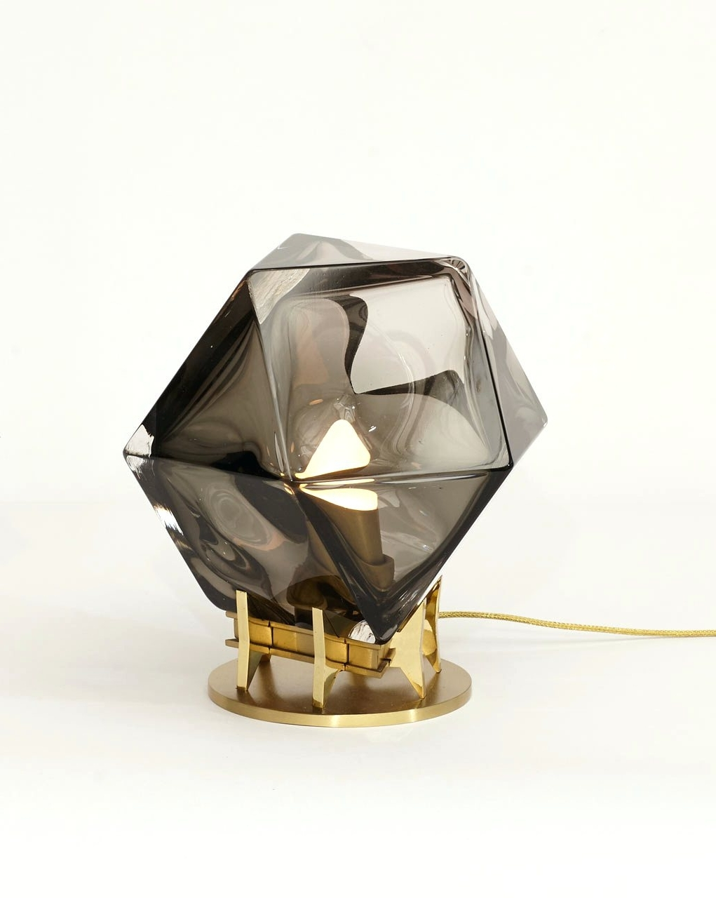 Well Known Wall Arts ~ A Gem Like Table Lamp From Gabriel Scott Gemstone Wall Throughout Gemstone Wall Art (View 13 of 15)