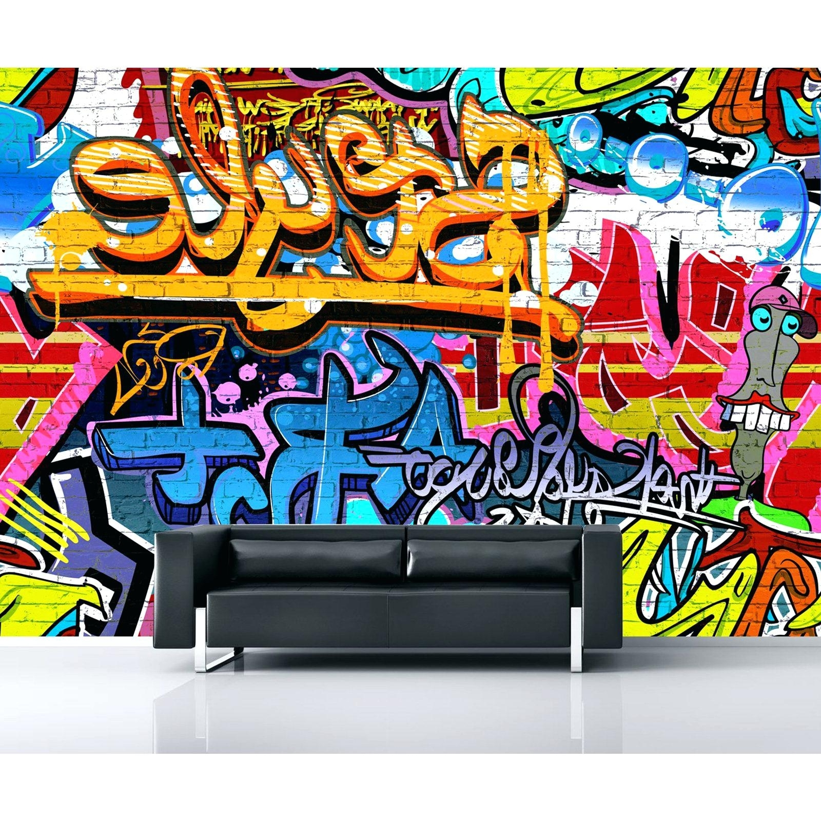 Well Known Wall Decals Graffiti – Gutesleben Throughout Personalized Graffiti Wall Art (View 7 of 15)