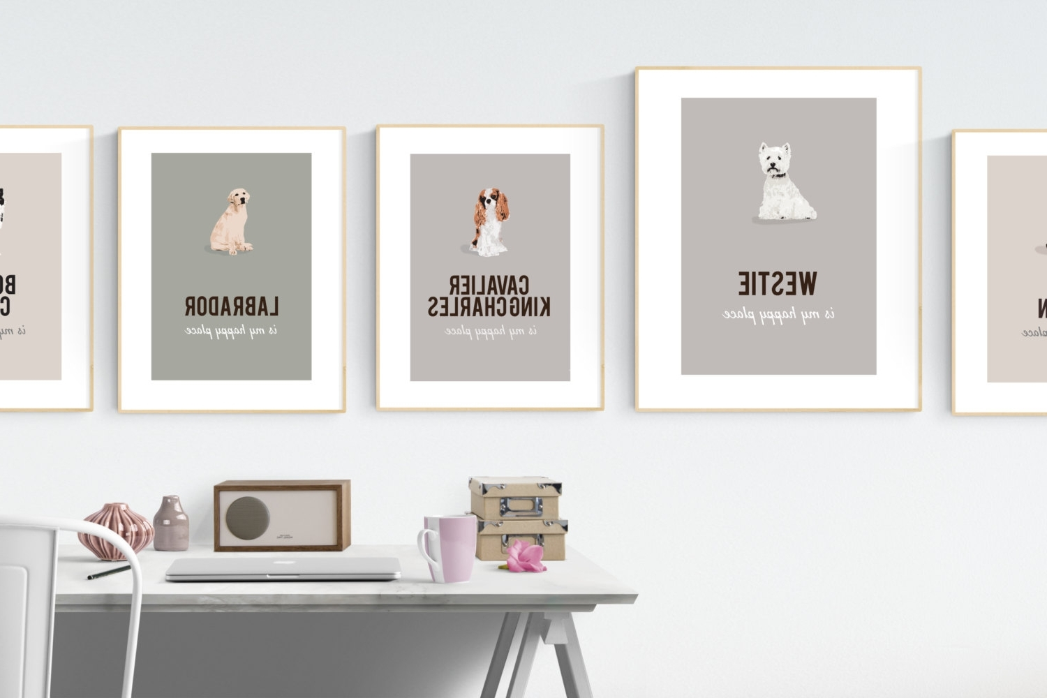 Well Known Westie Wall Art For West Highland Terrier Print (View 10 of 15)