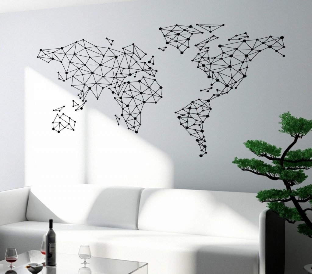 Well Known World Wall Art With Regard To Creative Inspiration World Wall Art With 25 Vinyl Map Travel Is (View 5 of 15)