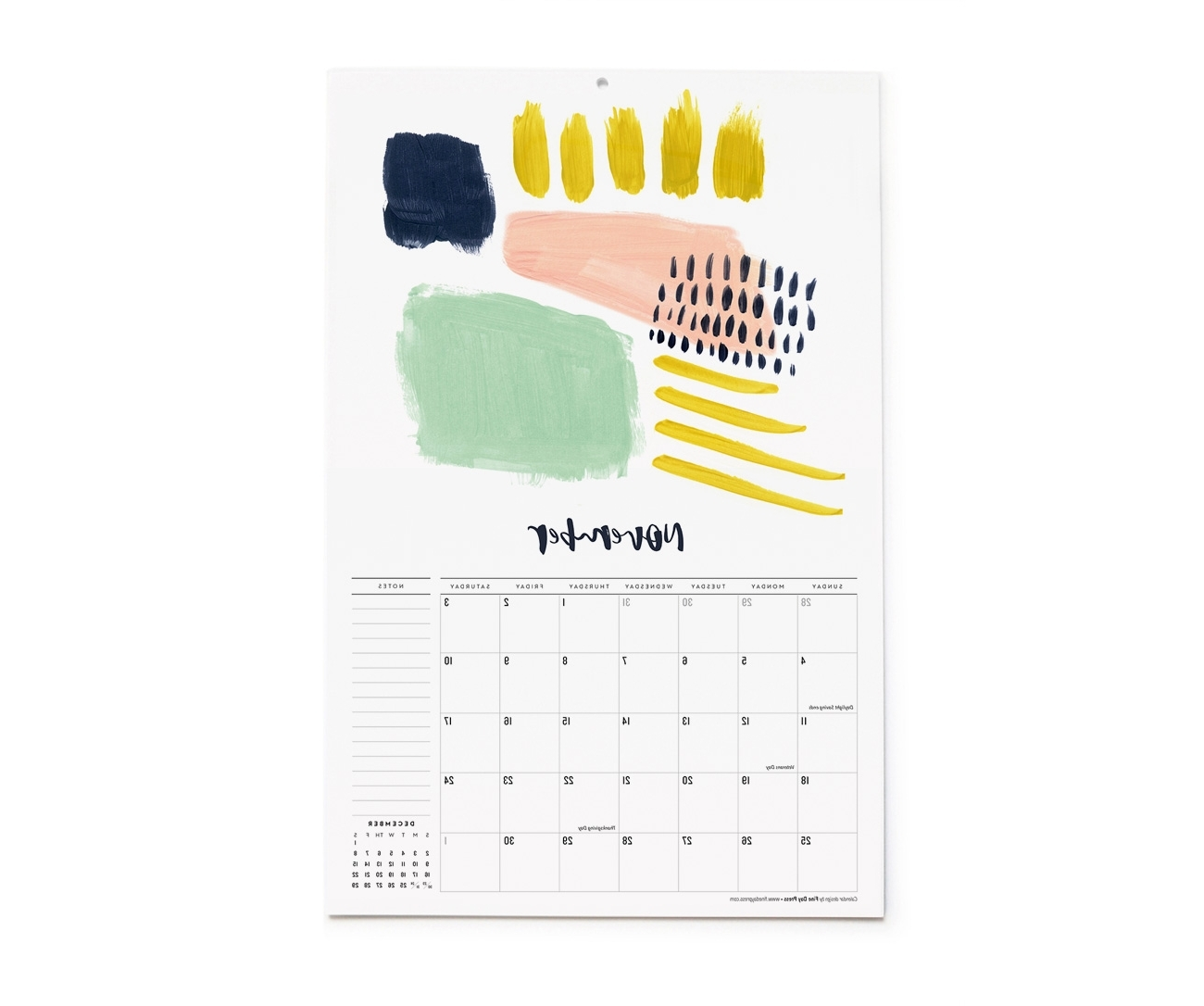 Well Liked 2018 Abstract Art Wall Calendar – Fine Day Press Regarding Abstract Calendar Art Wall (View 15 of 15)
