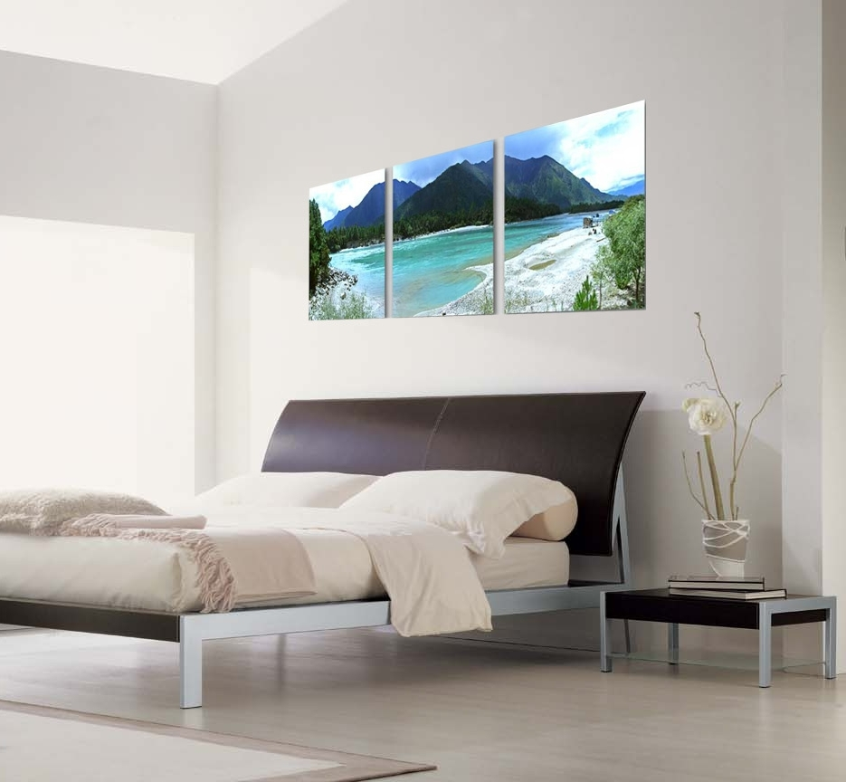 Well Liked 3 Piece Modern Wall Art Intended For Beach Life Photography 3 Piece Wall Art (View 5 of 15)