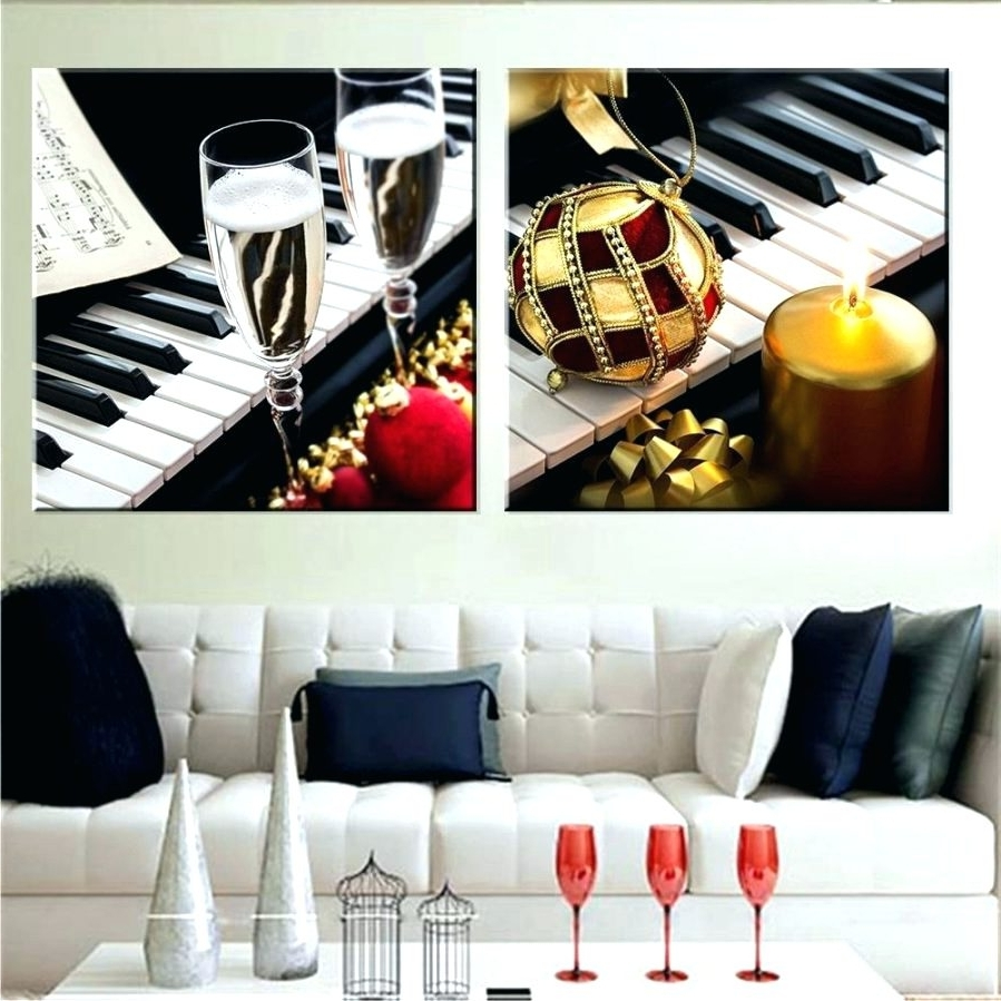 Featured Photo of Abstract Piano Wall Art