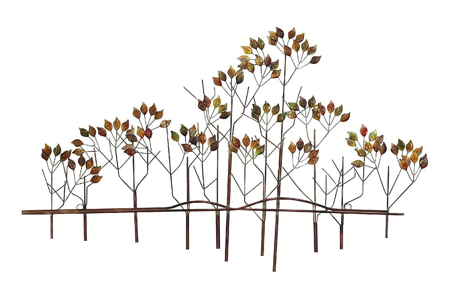 Well Liked Amazon: Tree Of Life Metal Wall Art Sculptures Home Decor Life In Metal Tree Wall Art Sculpture (View 10 of 15)
