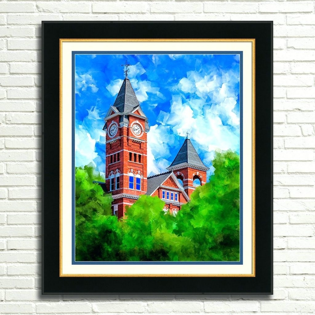 Well Liked Auburn Wall Art Regarding Wall Arts ~ Auburn Tigers Collectibles Wall Art Auburn Wall Art (View 11 of 15)