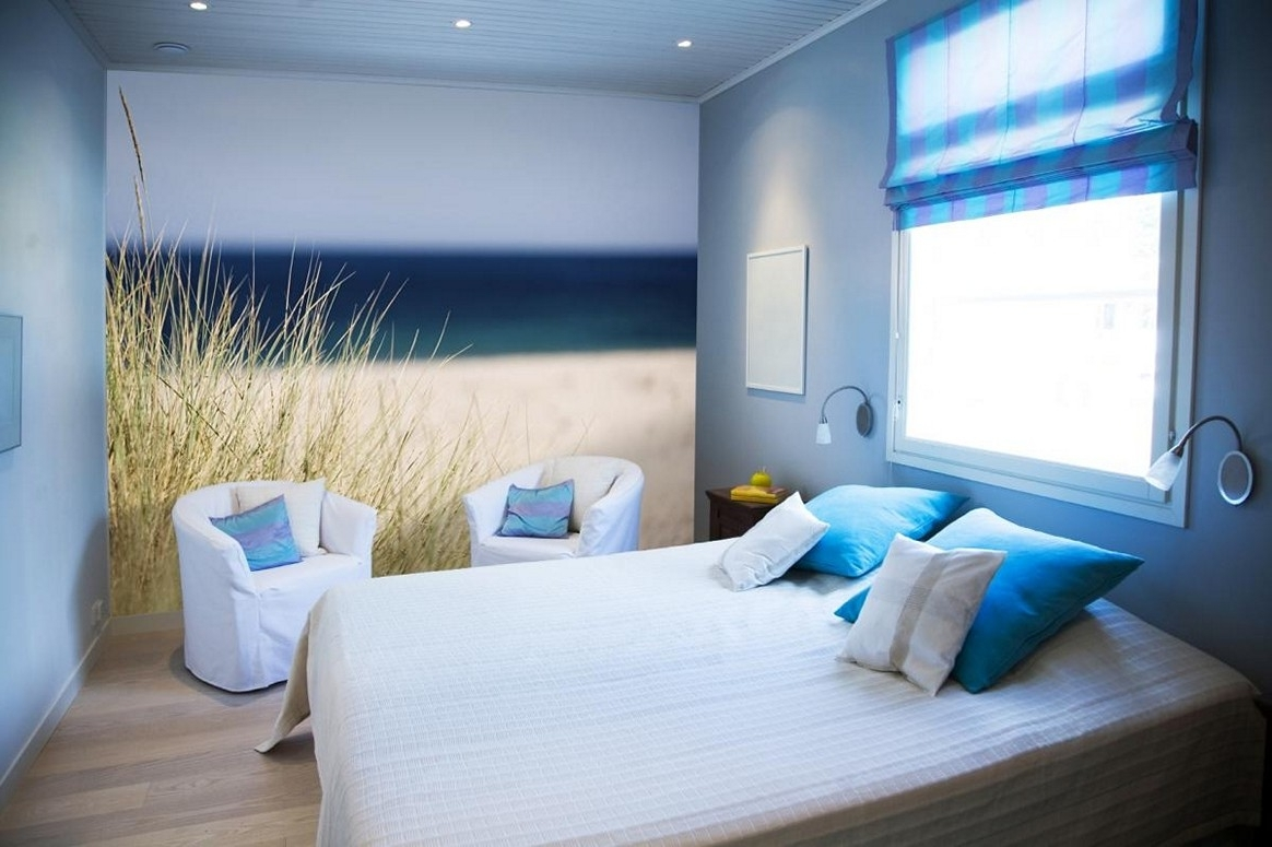 Well Liked Beach Themed Wall Art Pertaining To Amazing Beach Themed Bedroom Designs With Nice Wall Art Beach (View 13 of 15)
