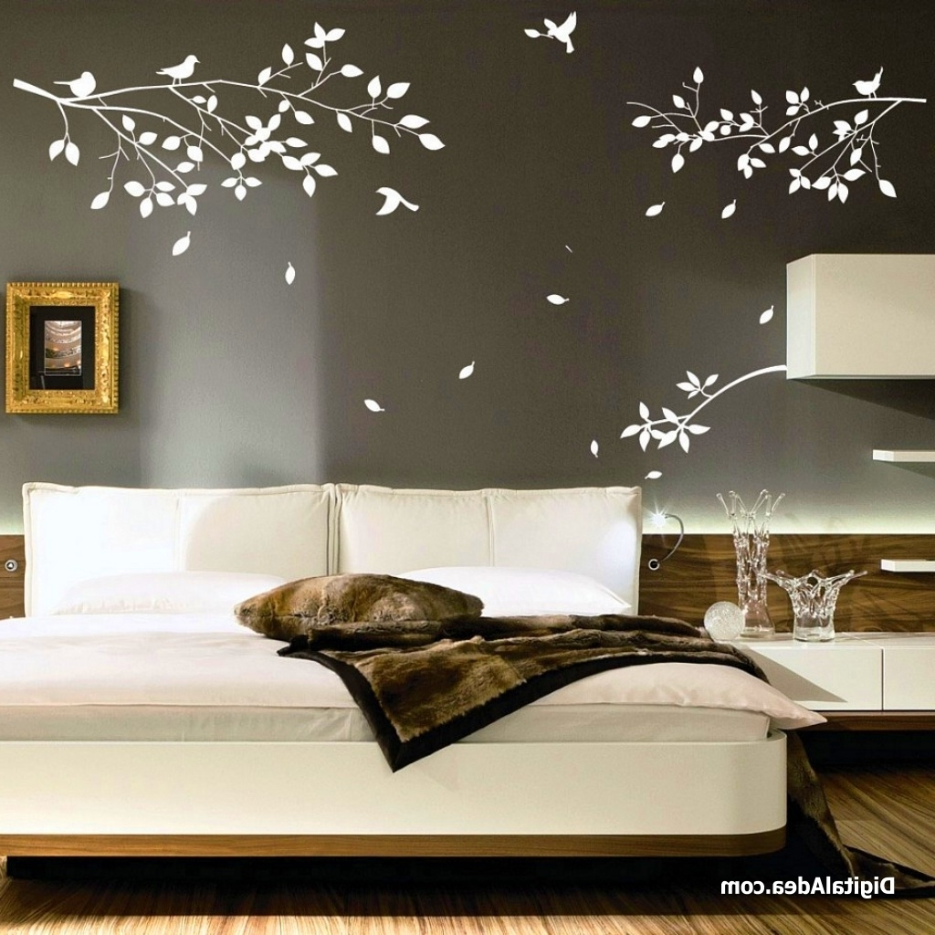 Well Liked Bedroom Decorating Ideas On A Budget Ornamental Bedroom Wall Art Within Bedroom 3D Wall Art (View 15 of 15)