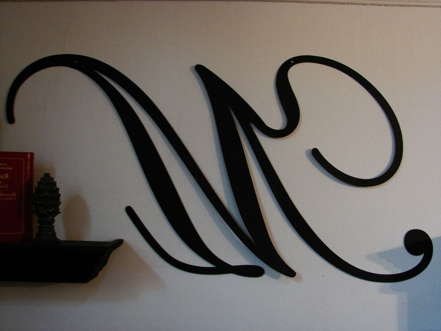 Featured Photo of Decorative Metal Letters Wall Art