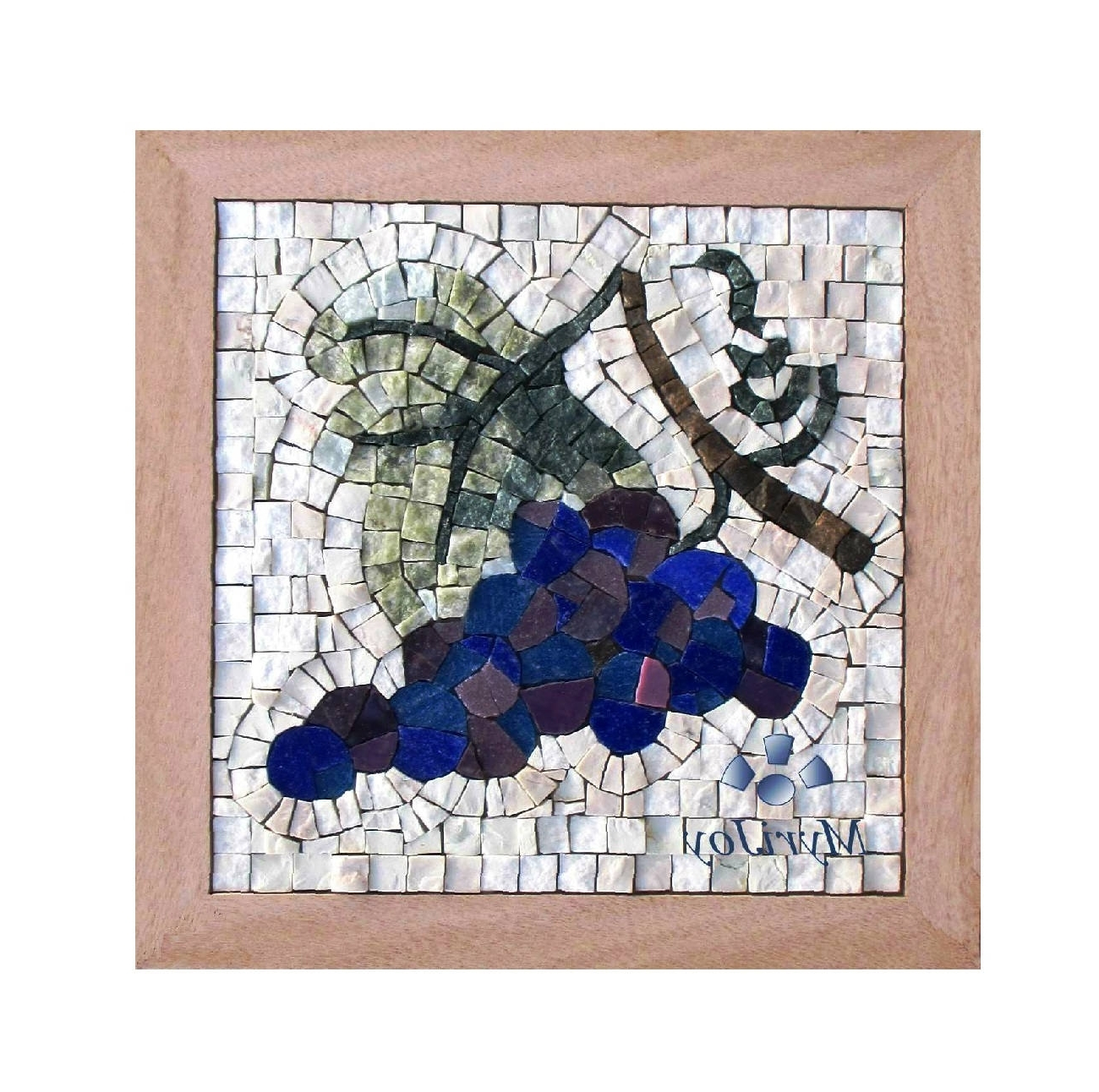 "Well Liked Diy Mosaic Wall Art Intended For Mosaic Wall Art Kit Fall 9""x9"" Diy Mosaics Tiles Craft Adults – Do (View 15 of 15)"