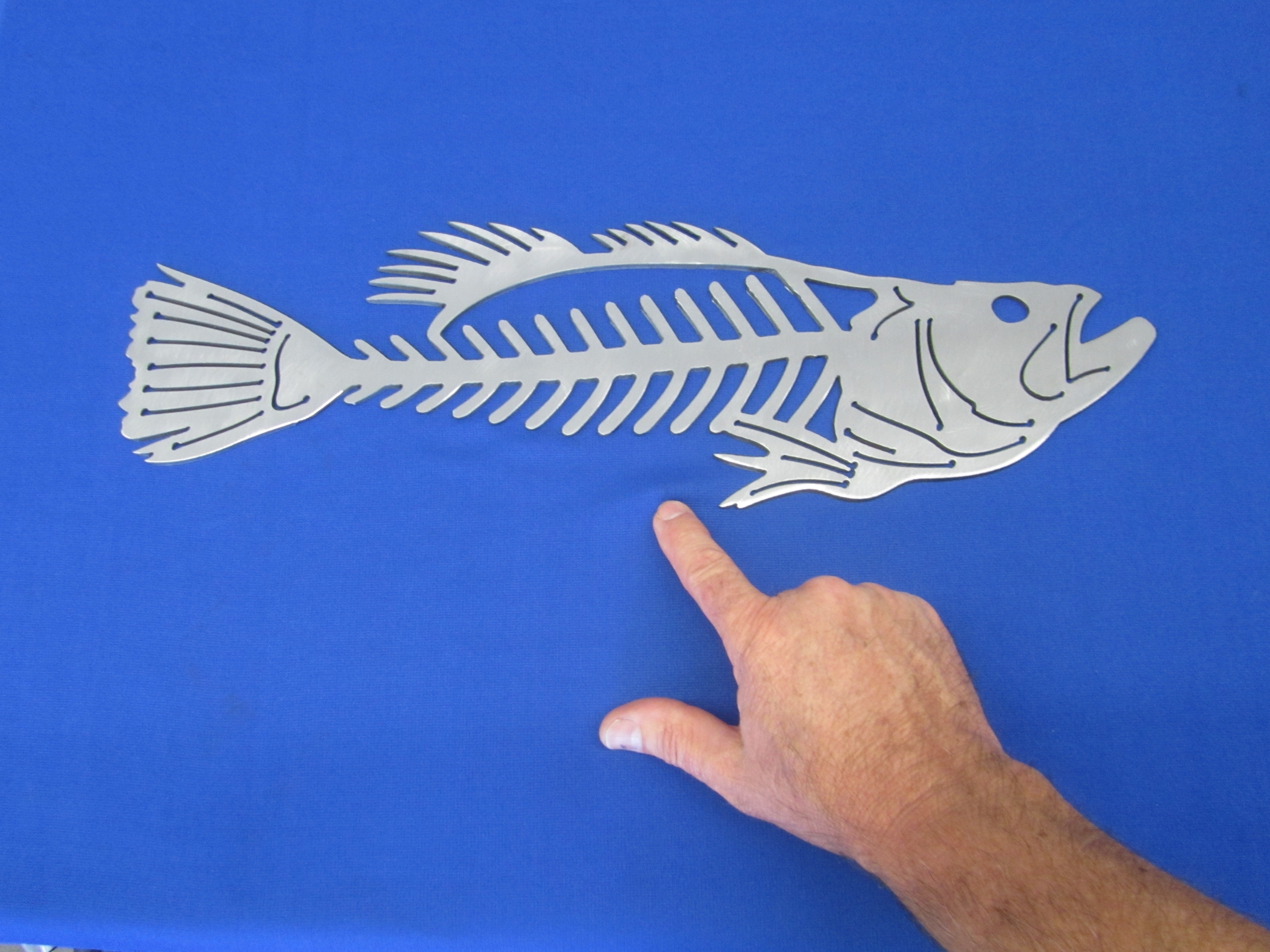 Featured Photo of Fish Bone Wall Art