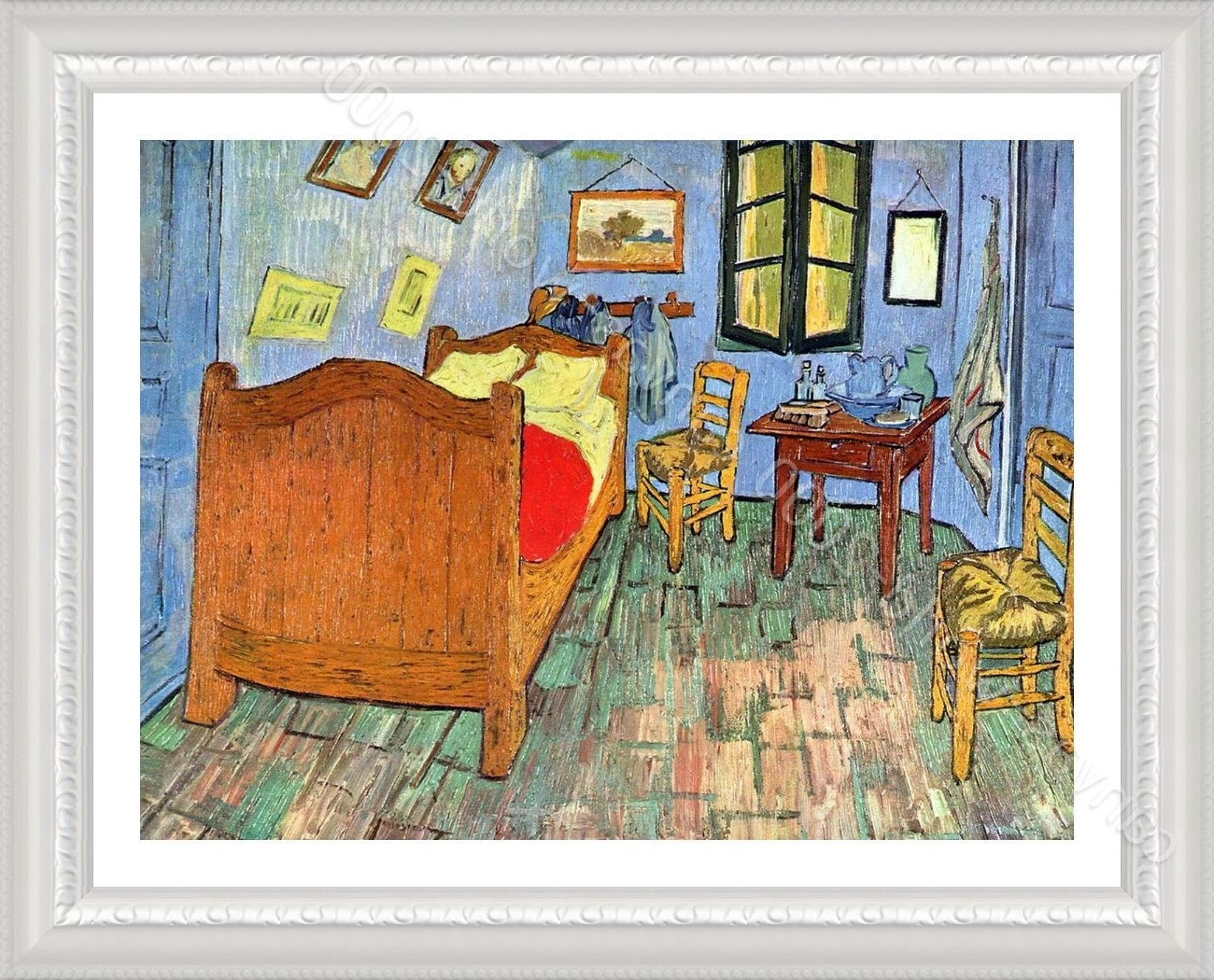 Well Liked Framed Poster Bedroom At Arles Vincent Van Gogh Framed Decor Inside Vincent Van Gogh Wall Art (View 14 of 15)