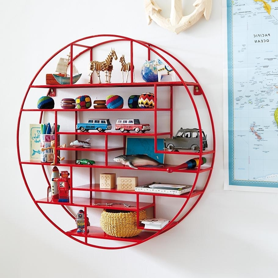 Well Liked Land Of Nod Wall Art Pertaining To Geo Wall Shelf Designs (View 15 of 15)