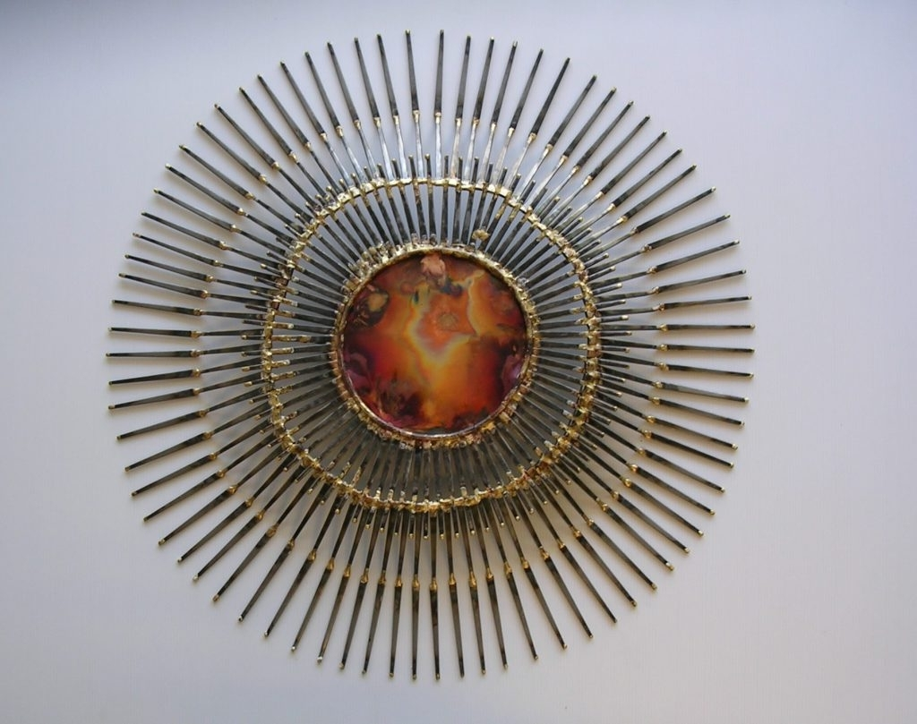 Well Liked Large Metal Wall Art Sculptures Within Clever Design Extra Large Metal Wall Art With Perfect Sculptures (View 2 of 15)