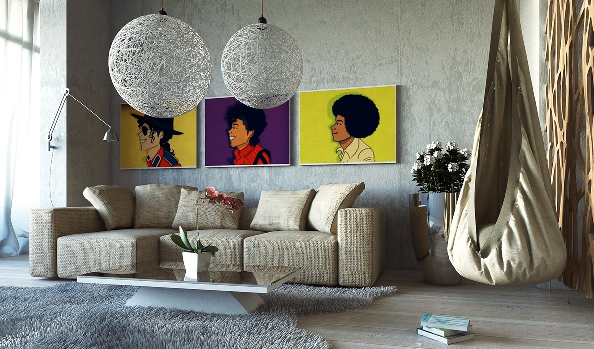 Well Liked Large Wall Art For Living Rooms Ideas Inspiration Pictures Decor In Houzz Abstract Wall Art (View 6 of 15)