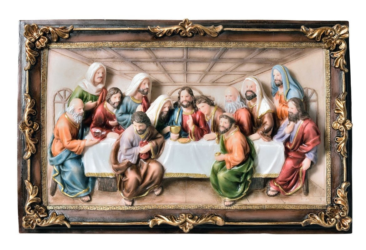 Well Liked Last Supper Wall Art For Sintechno Inc Last Supper Hanging Wall Decor & Reviews (View 14 of 15)