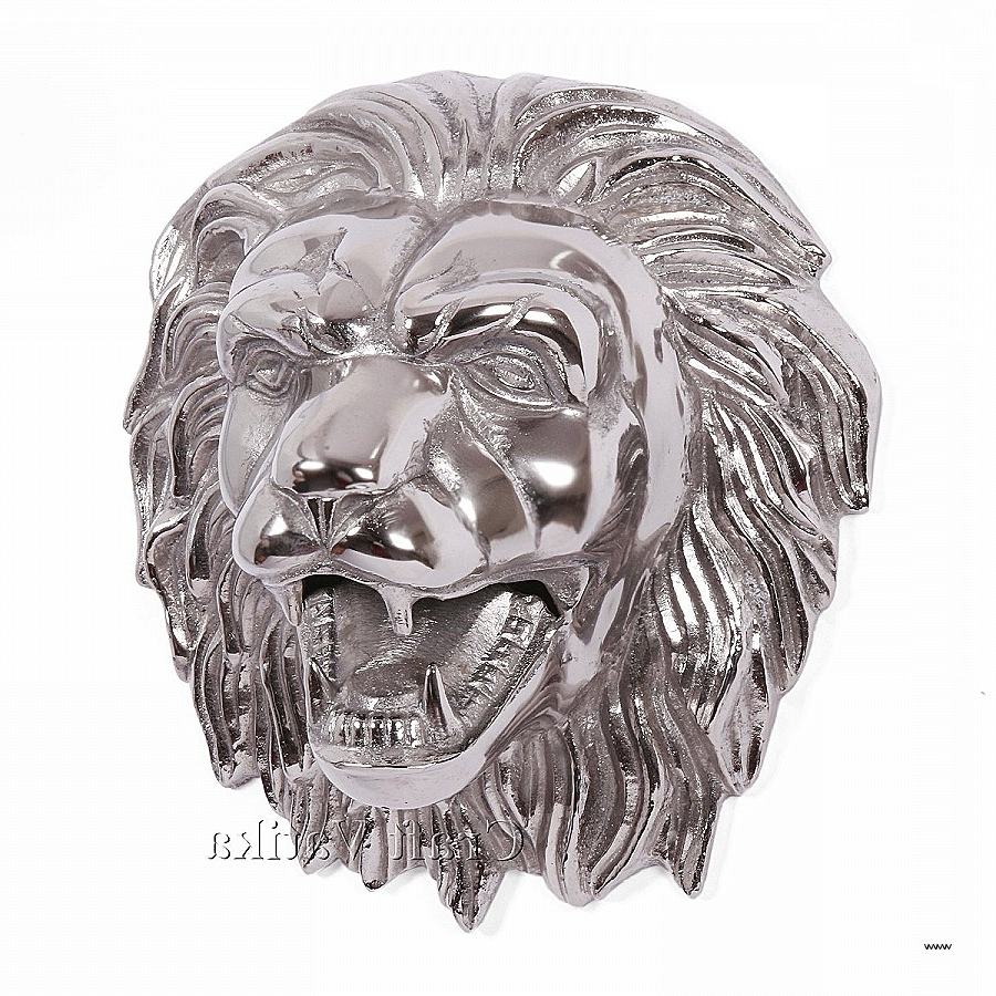 Well Liked Metal Animal Heads Wall Art Elegant Metal Art Wall Decor Brass In Metal Animal Heads Wall Art (View 14 of 15)