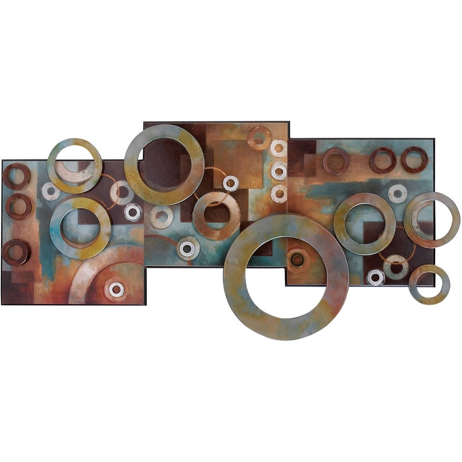 Well Liked Metal Wall Art – Walmart Pertaining To Kingdom Abstract Metal Wall Art (View 2 of 15)