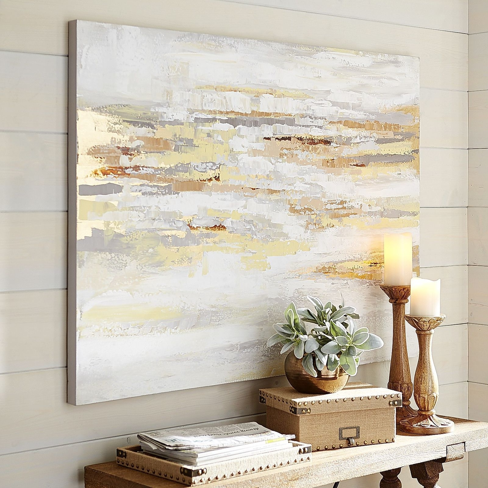 Well Liked Neutral Abstract Wall Art Regarding Muted Shades Multiply Your Options When Considering Wall Art For (View 2 of 15)