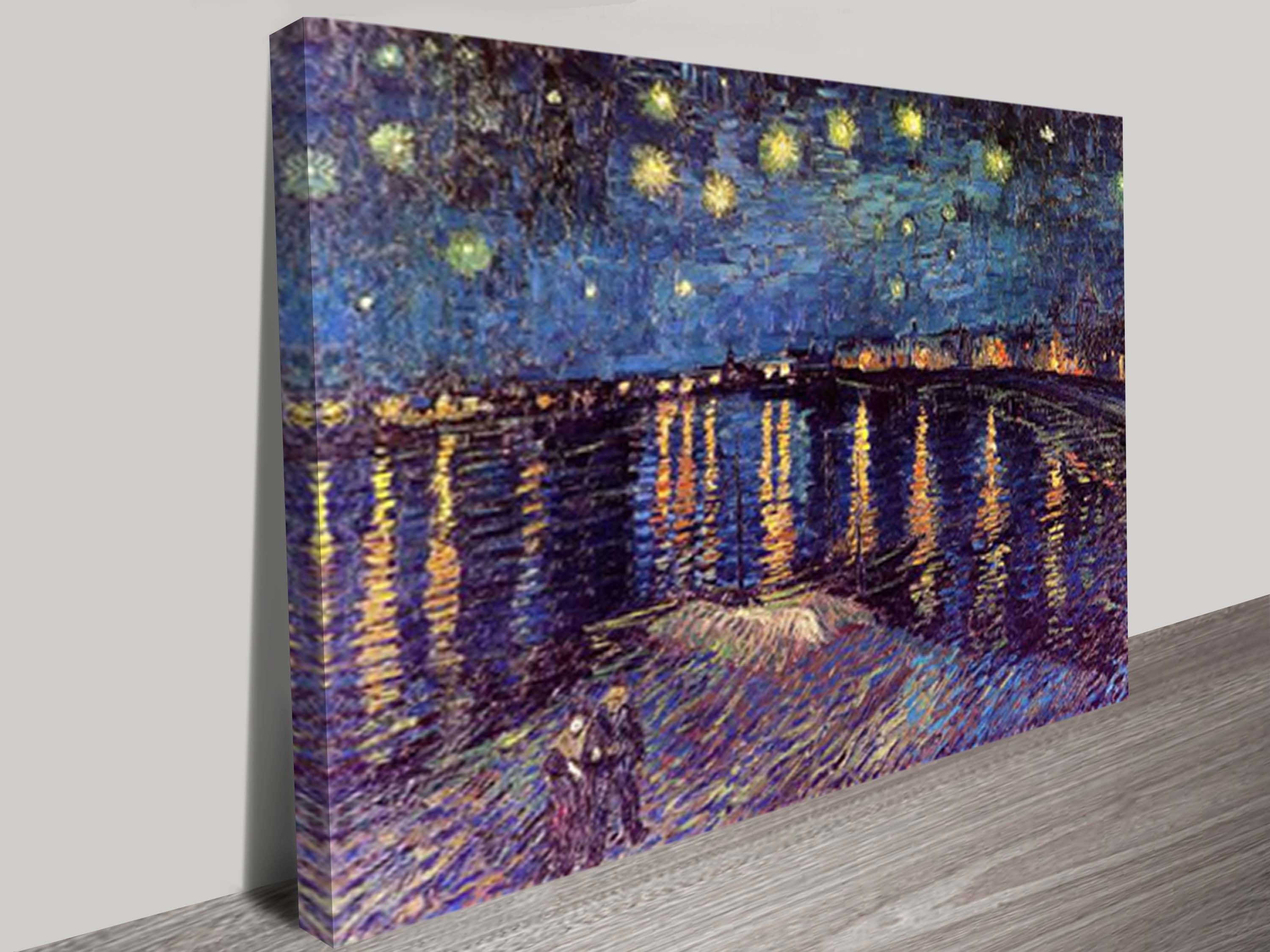 Well Liked Vincent Van Gogh Wall Art In Starry Night Over The Rhone Art Printvincent Van Gogh (View 3 of 15)