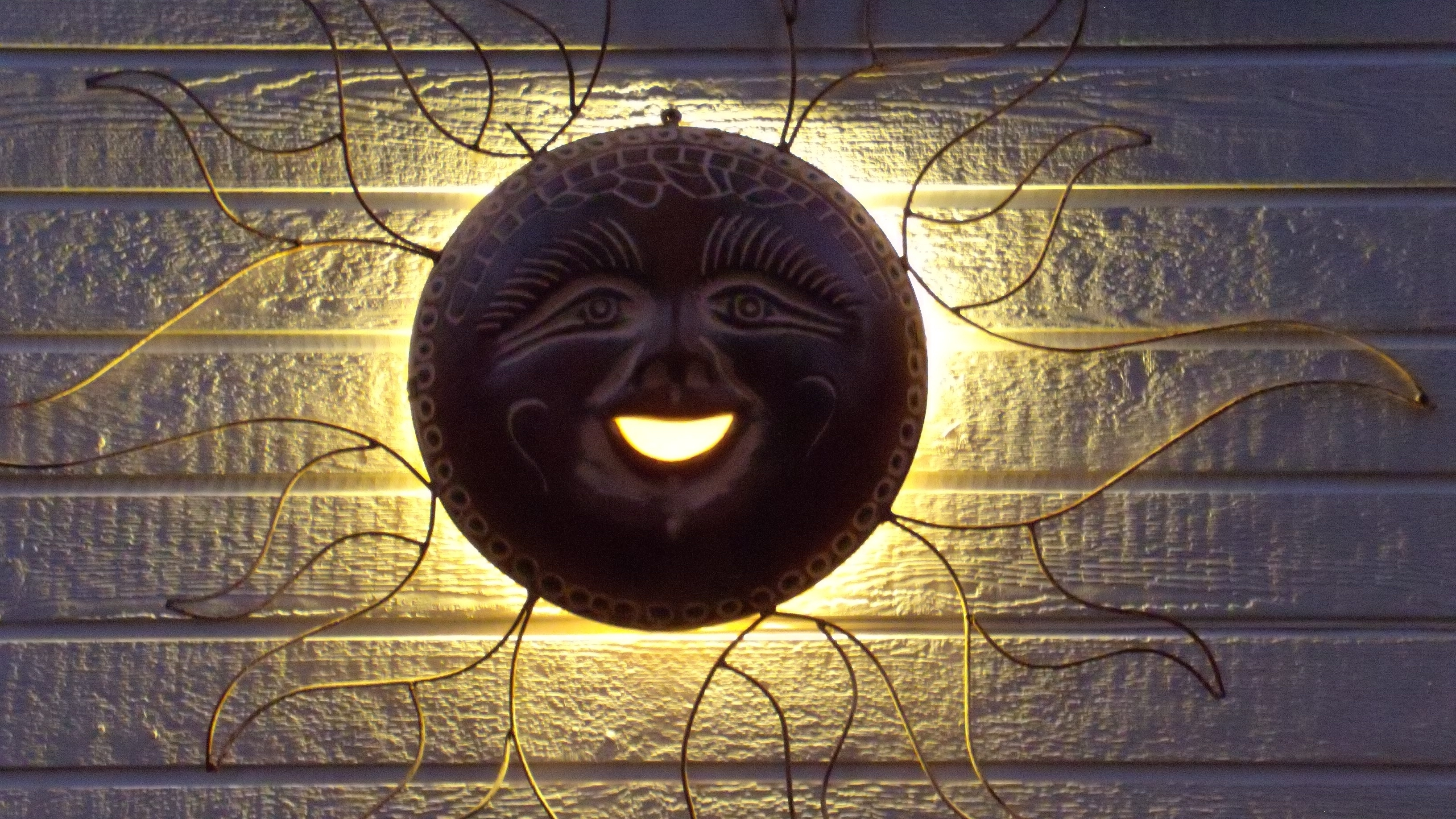 Well Liked Wall Art Design: Outdoor Copper Wall Art Round Black Sun Wall Art For Copper Outdoor Wall Art (View 3 of 15)