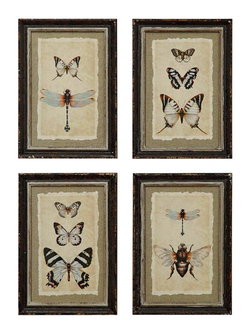Well Liked Wall Art Print Sets Inside Wall Art Designs: Framed Wall Art Sets Gold Coral Print Set Of Six (View 14 of 15)