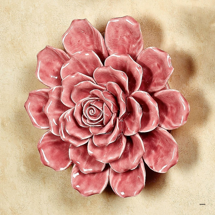 Well Liked Wall Art Unique Ceramic Flower Wall Art High Resolution Wallpaper Pertaining To Ceramic Flower Wall Art (View 15 of 15)