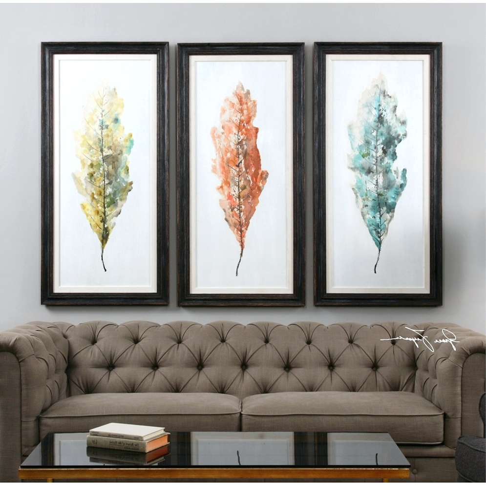 Well Liked Wall Arts ~ Phenomenal Framed Art Sets Of 3 Decorating Ideas Throughout Three Piece Wall Art Sets (View 14 of 15)