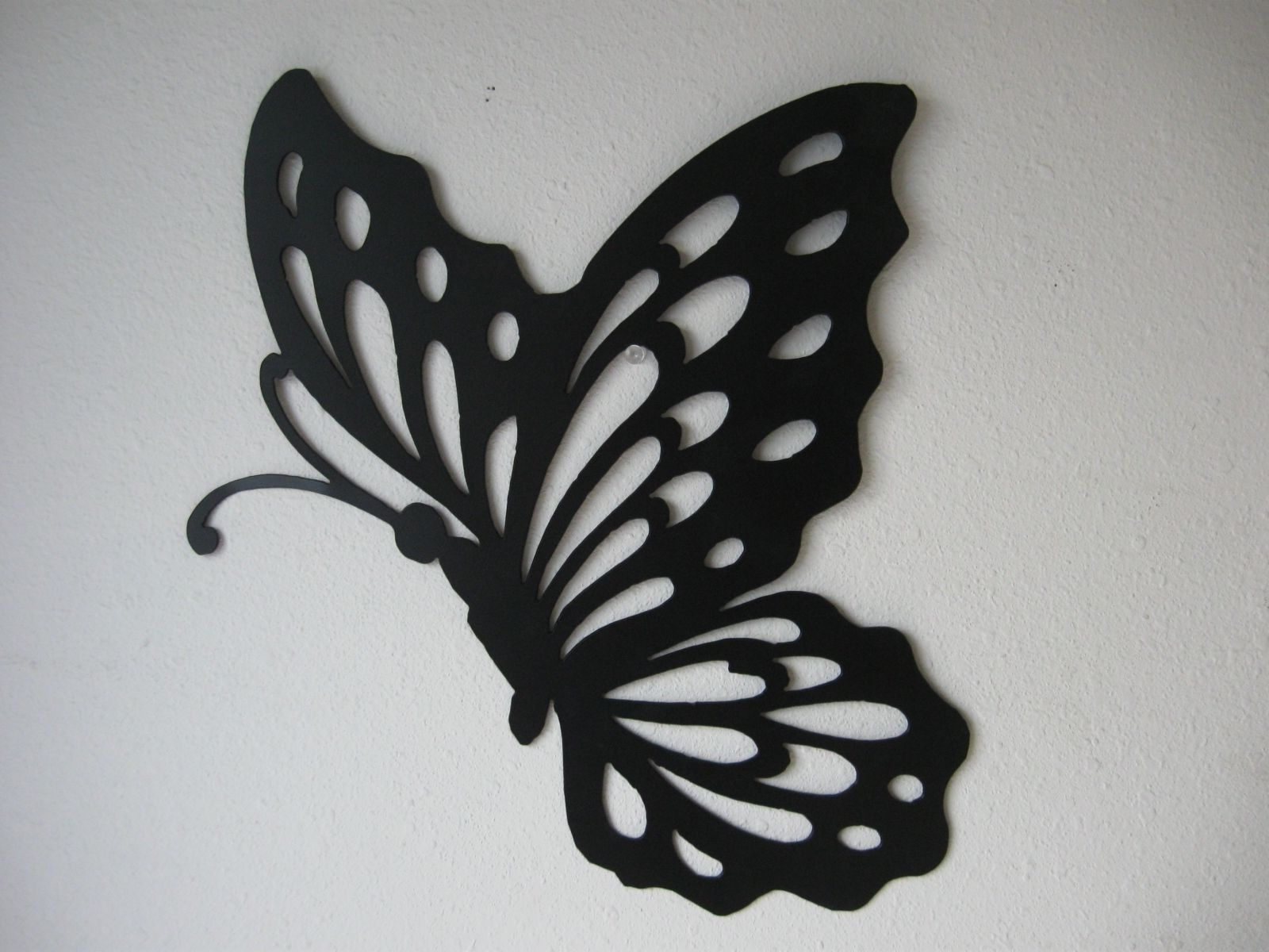 Well Liked White Metal Butterfly Wall Art Regarding Metal Butterfly Wall  Decor U2014 Creative Home Decoration