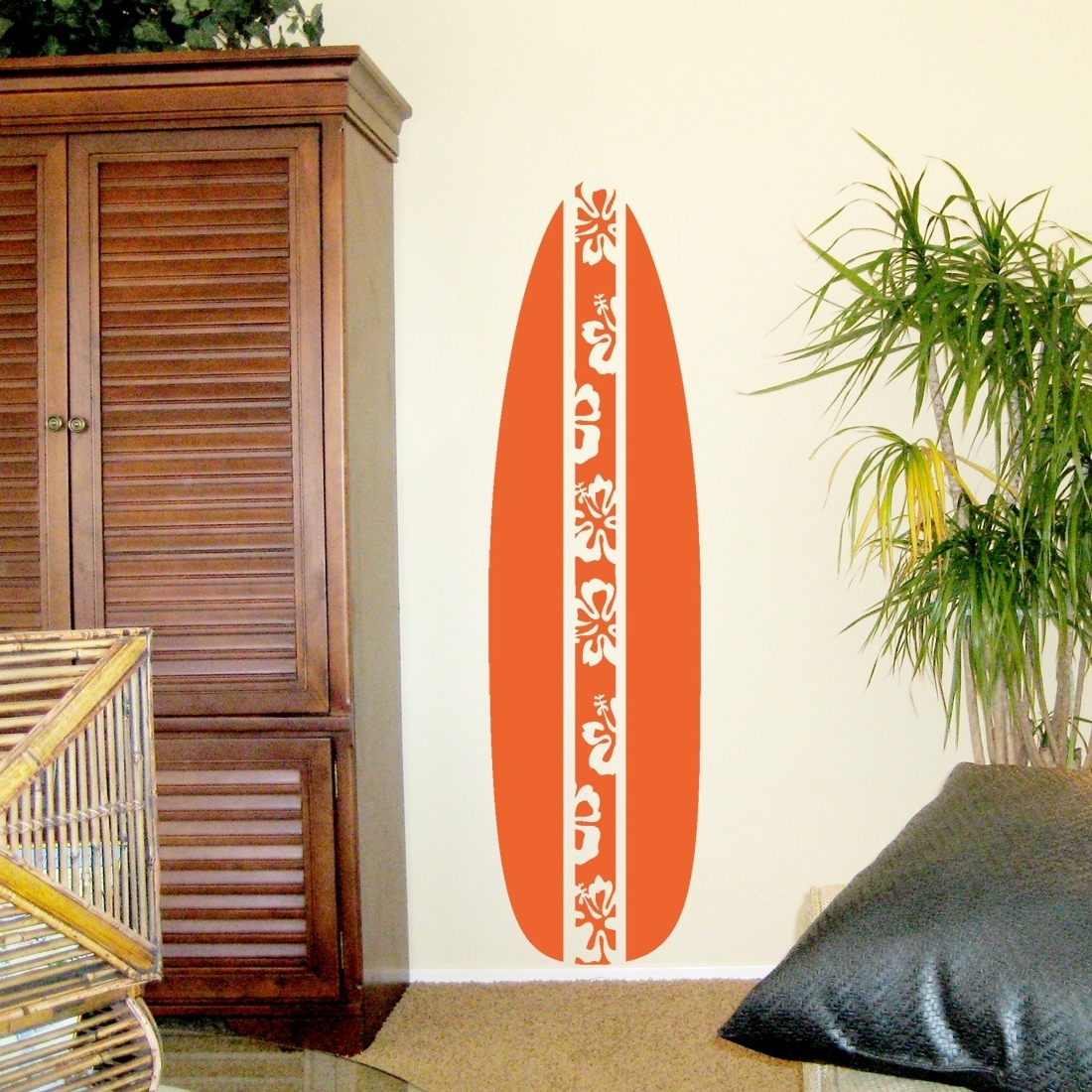 Well Liked Wooden Surfboard Wall Decor (View 14 of 15)