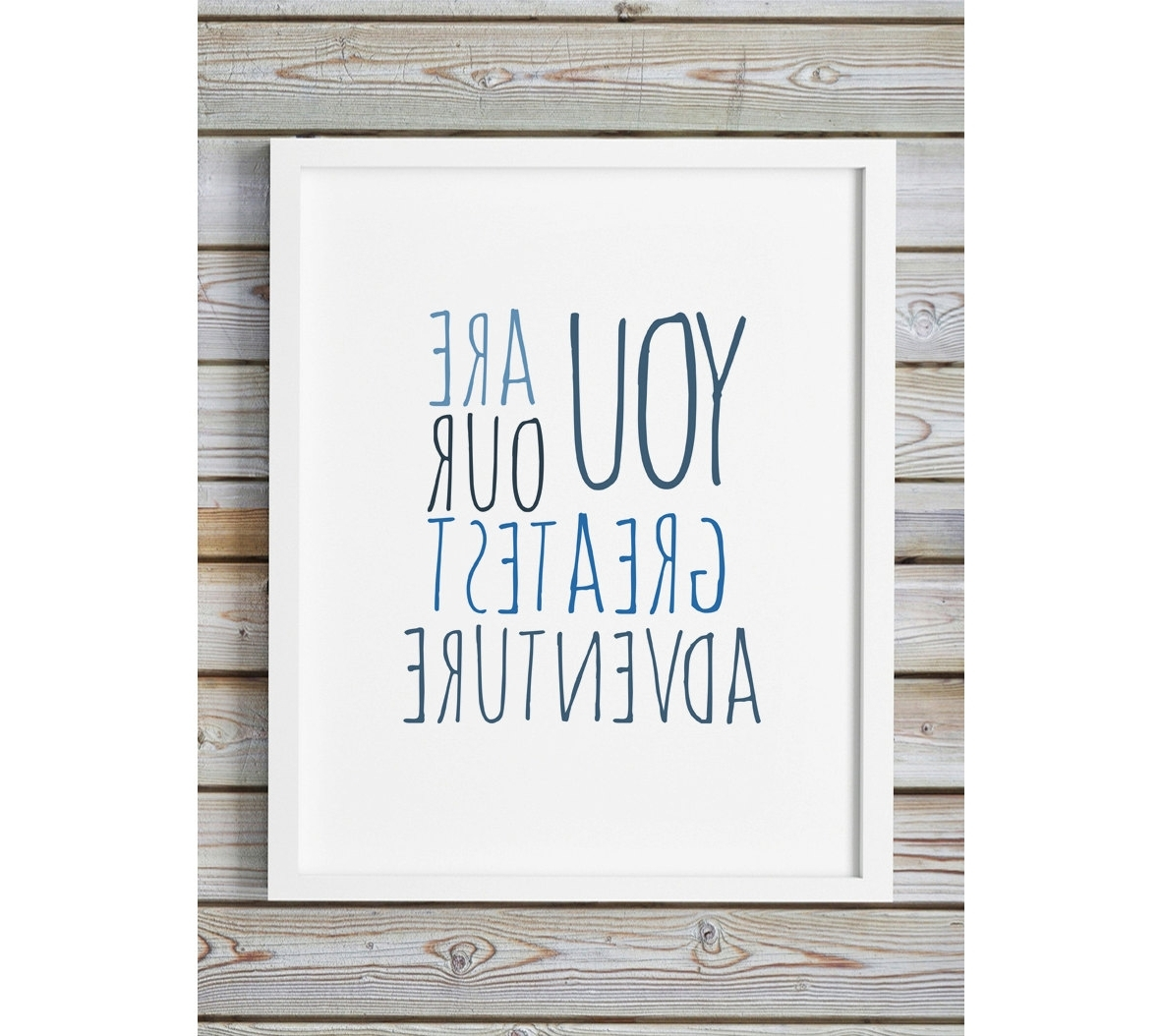 Well Liked You Are Our Greatest Adventure Navy Blue Indigo Printable Nursery In Italian Nursery Wall Art (View 15 of 15)