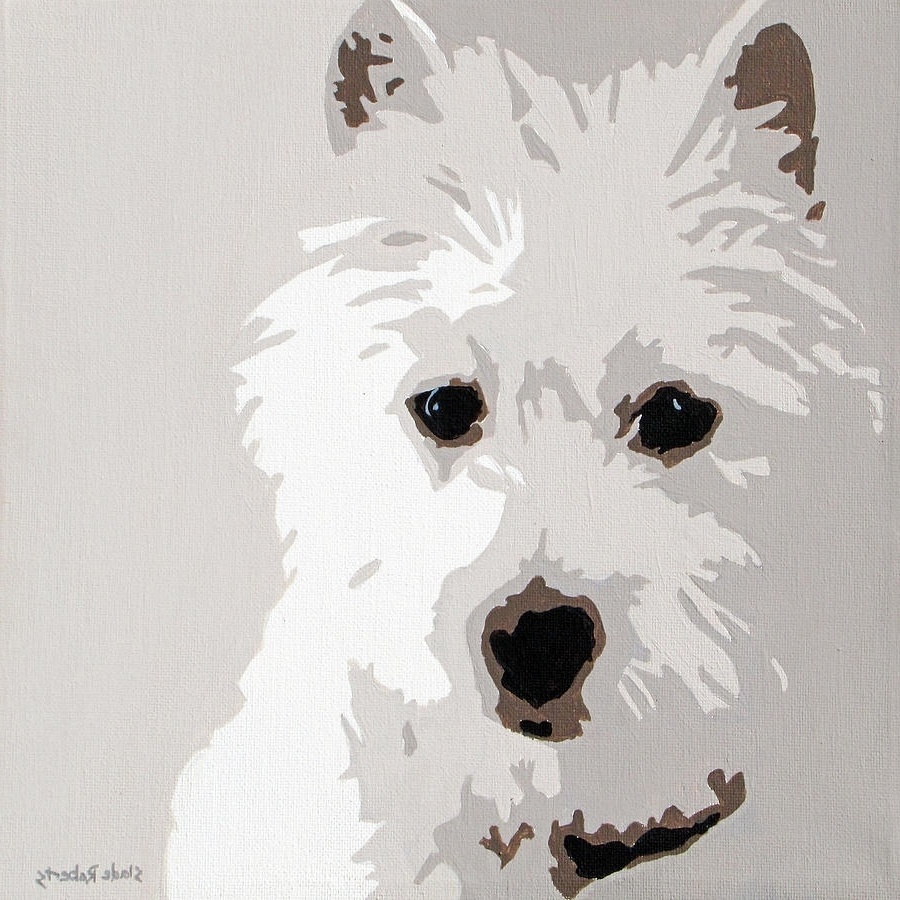 Featured Photo of Westie Wall Art