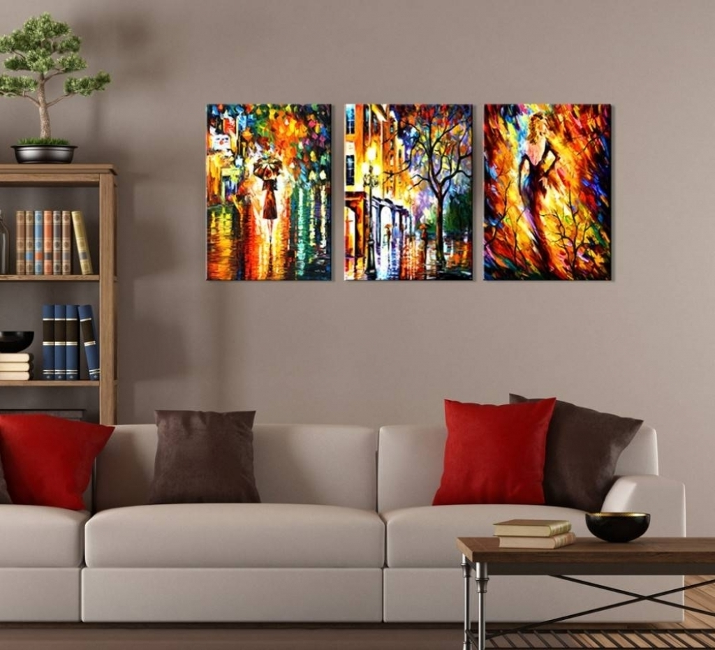 Widely Used Amazing As Well As Beautiful 3 Piece Canvas Wall Art Sets (View 13 of 15)