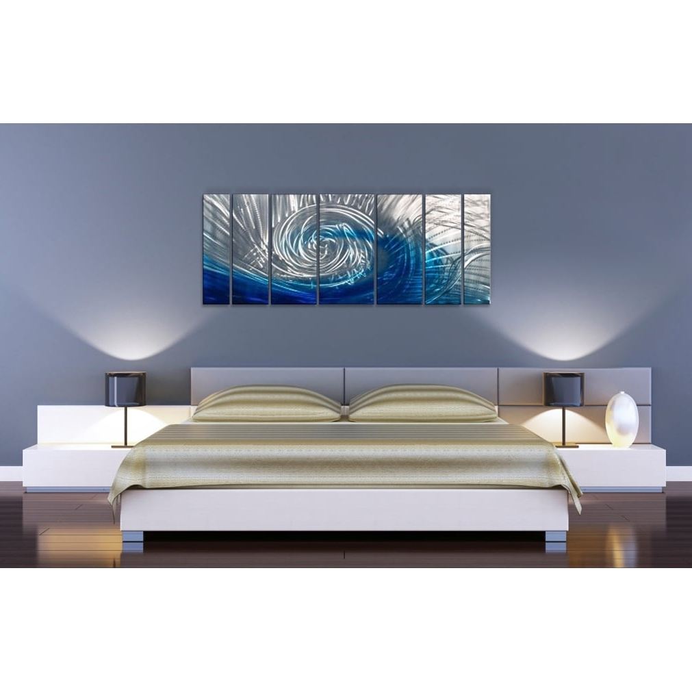 Widely Used Ash Carl Metal Art Inside Ash Carl 'be There' Metal Wall Art – Free Shipping Today (View 15 of 15)