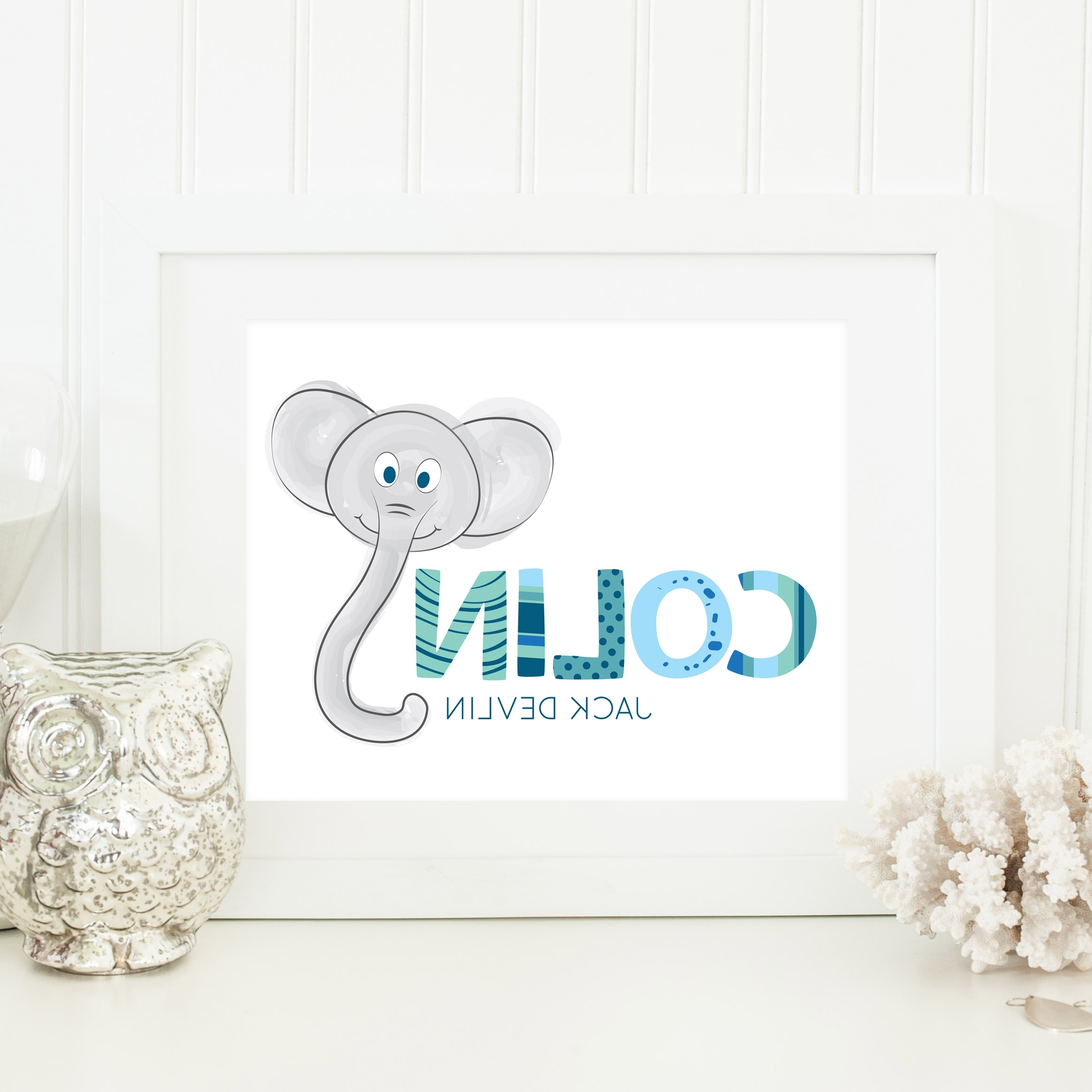 Widely Used Baby Name Wall Art Inside Baby Name Art (View 6 of 15)