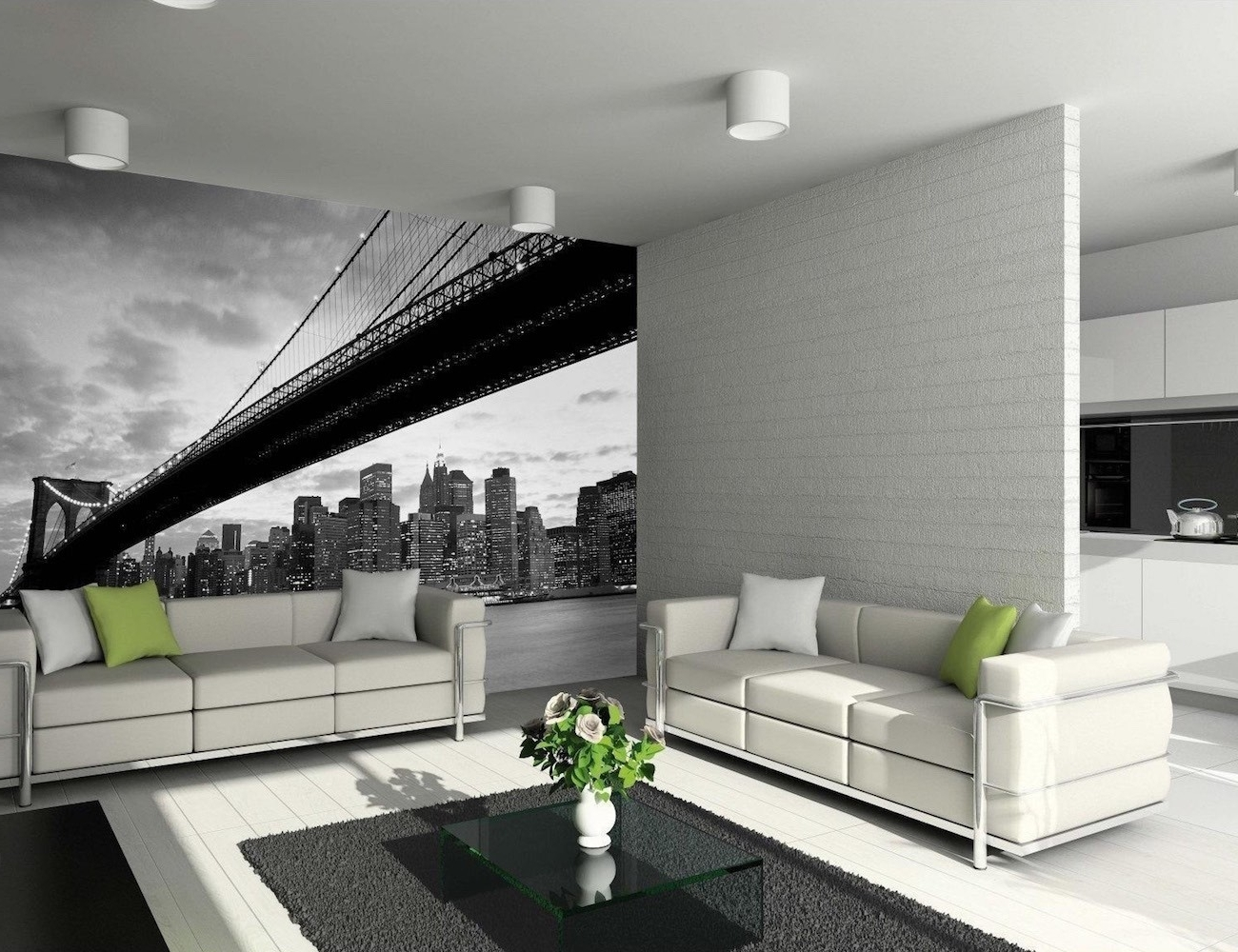Widely Used Brooklyn Bridge Wall Mural1Wall » Gadget Flow For Brooklyn Bridge Wall Decals (View 15 of 15)