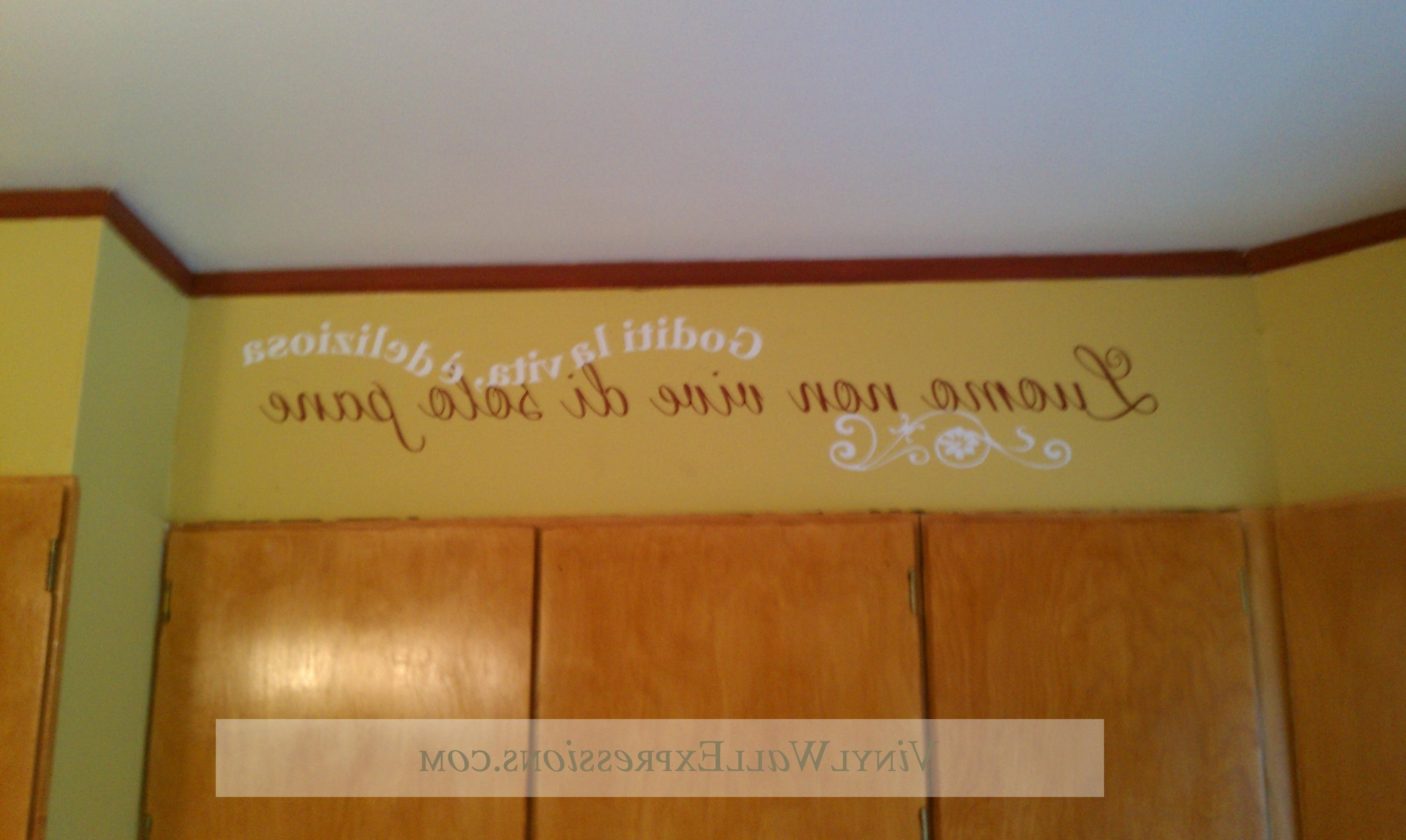 Widely Used Chiropractic Vinyl Lettering•vinyl Wall Expressions Throughout Chiropractic Wall Art (View 12 of 15)