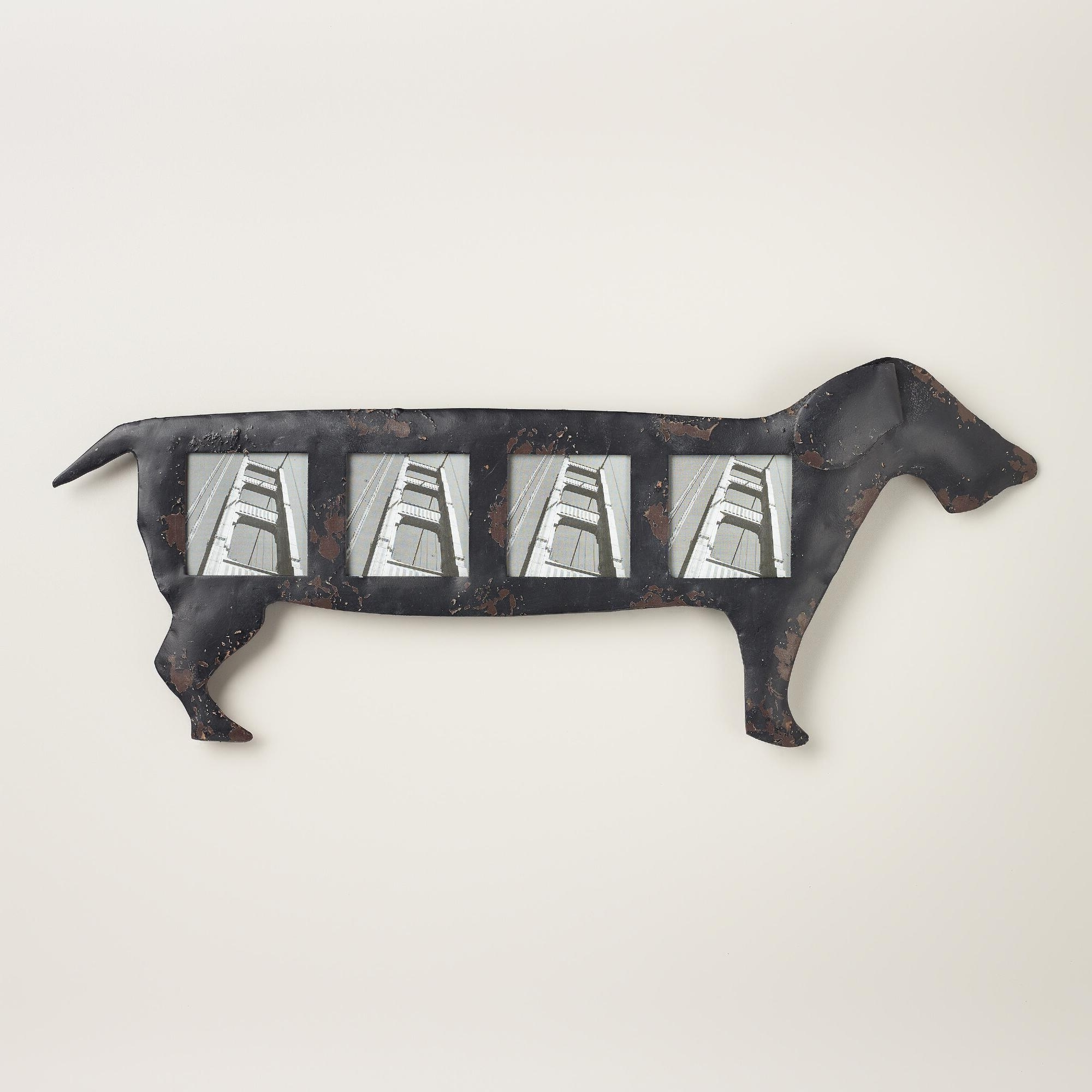 Widely Used Dachshund Wall Art In An Adorable Addition To Any Dog Lover's Home, Our Distressed Metal (View 12 of 15)
