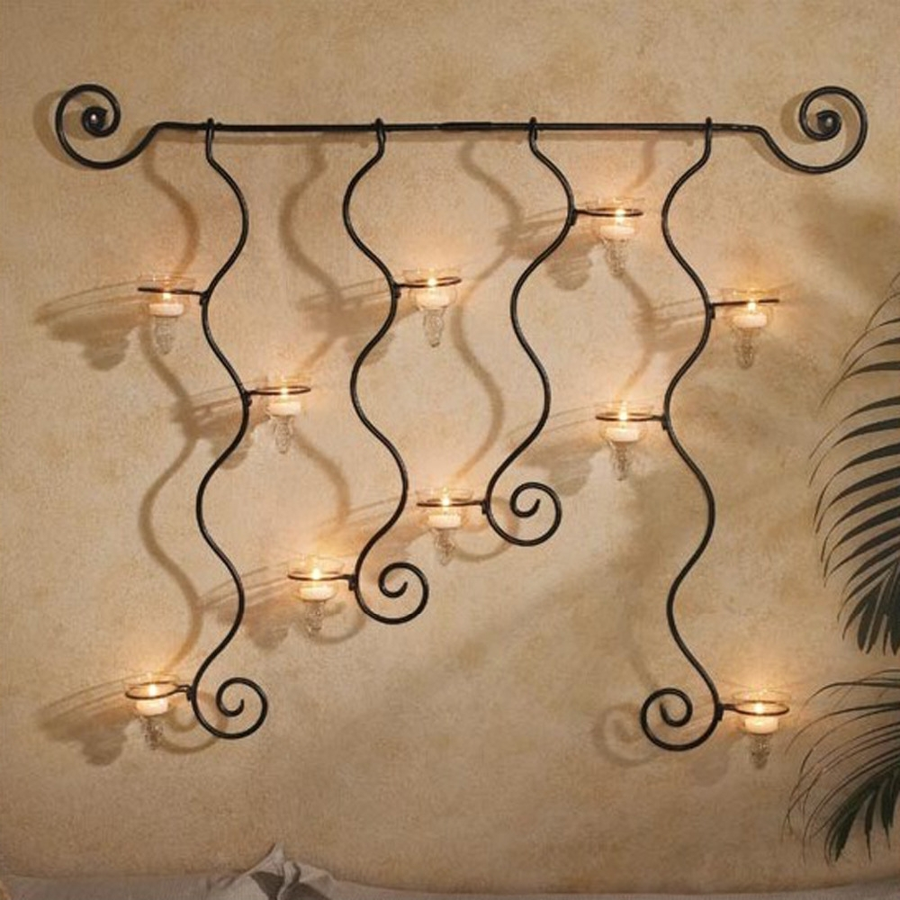 Widely Used Diy Metal Wall Art With Rod Iron Wall Art Black Wrought Iron Wall Decor Metal Decor (View 14 of 15)