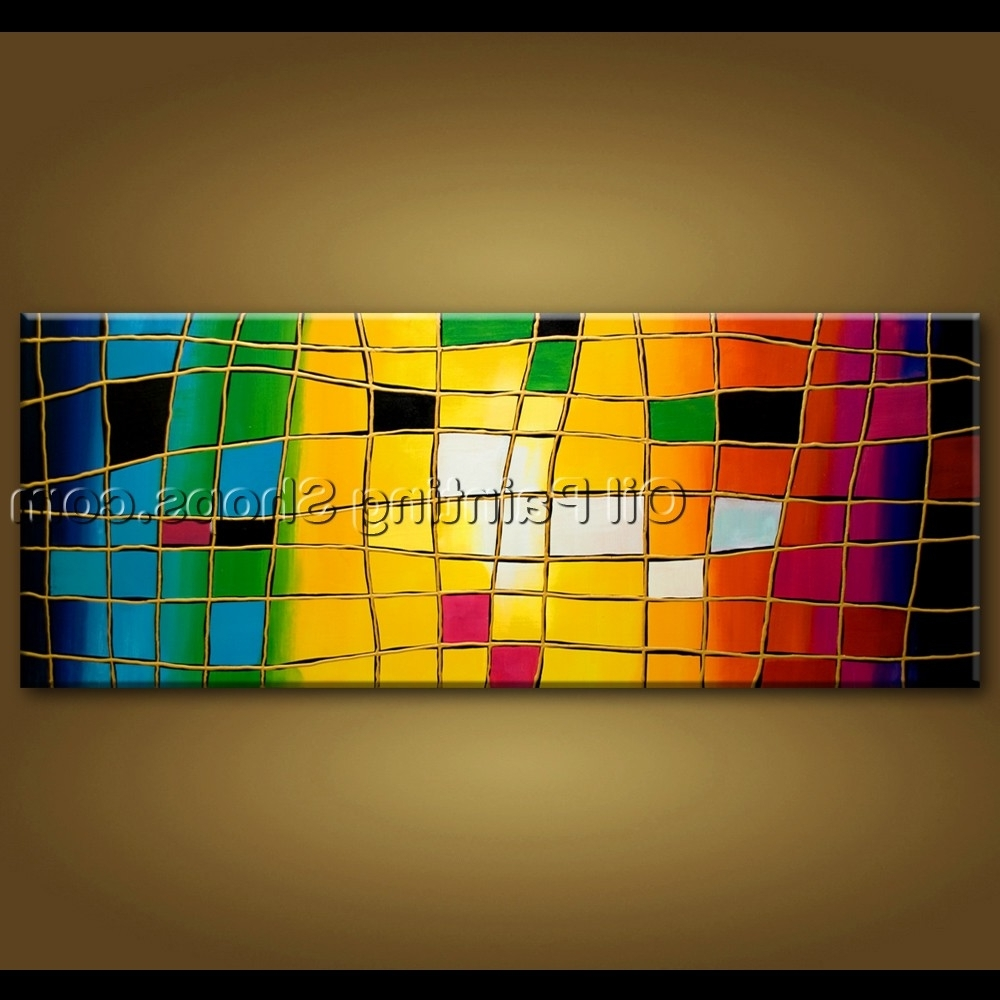 Widely Used Extra Large Abstract Wall Art With Regard To Large Wall Art Hand Painted Abstract Oil Painting On Canvas Modern (View 14 of 15)
