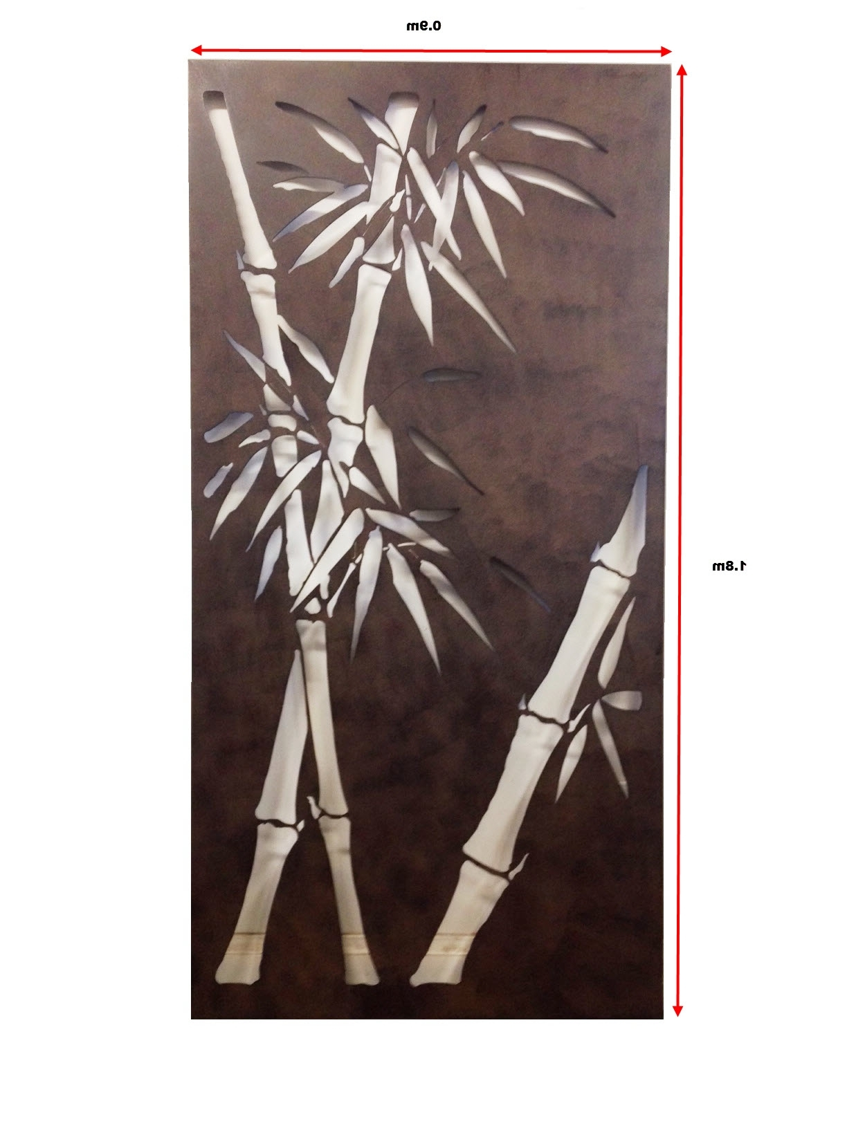 Widely Used Garden Screens Ebay Decorative Metal Wall Art Bamboo ~ Loversiq With Regard To Bamboo Metal Wall Art (View 3 of 15)